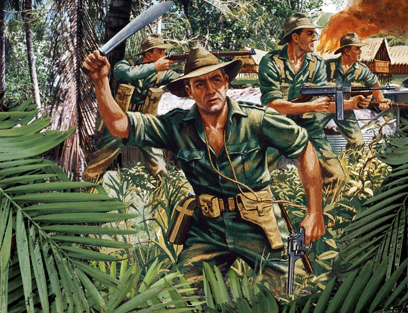 рисунок пехота Австралии