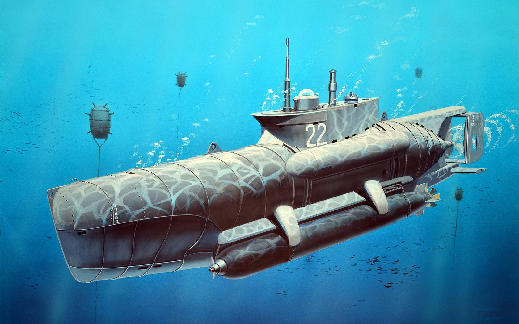 рисунок U-Boot Type XXVIIB Seehund