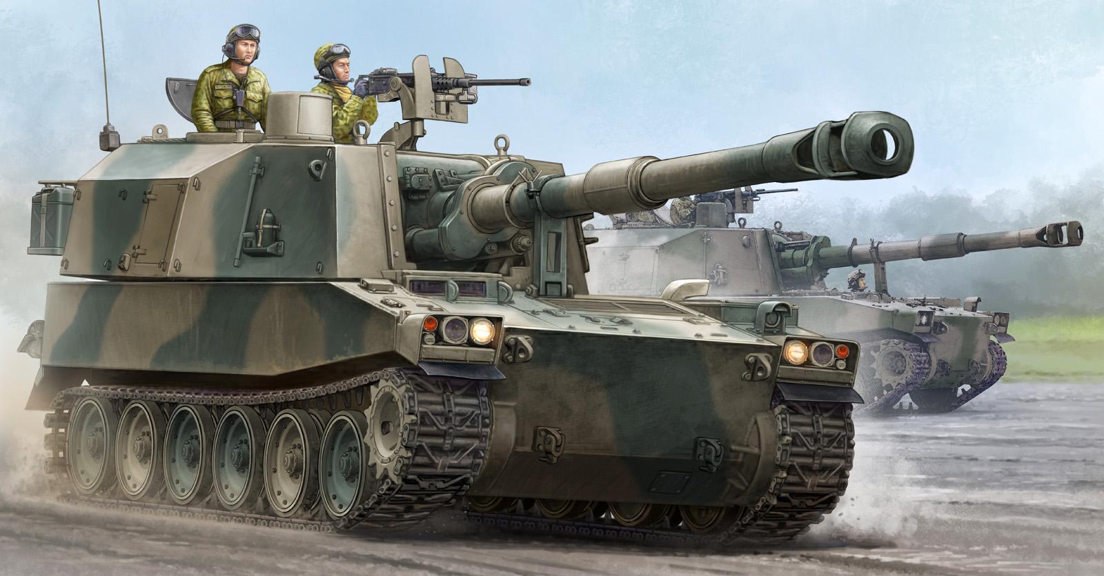 рисунок Type 75 155mm SPH