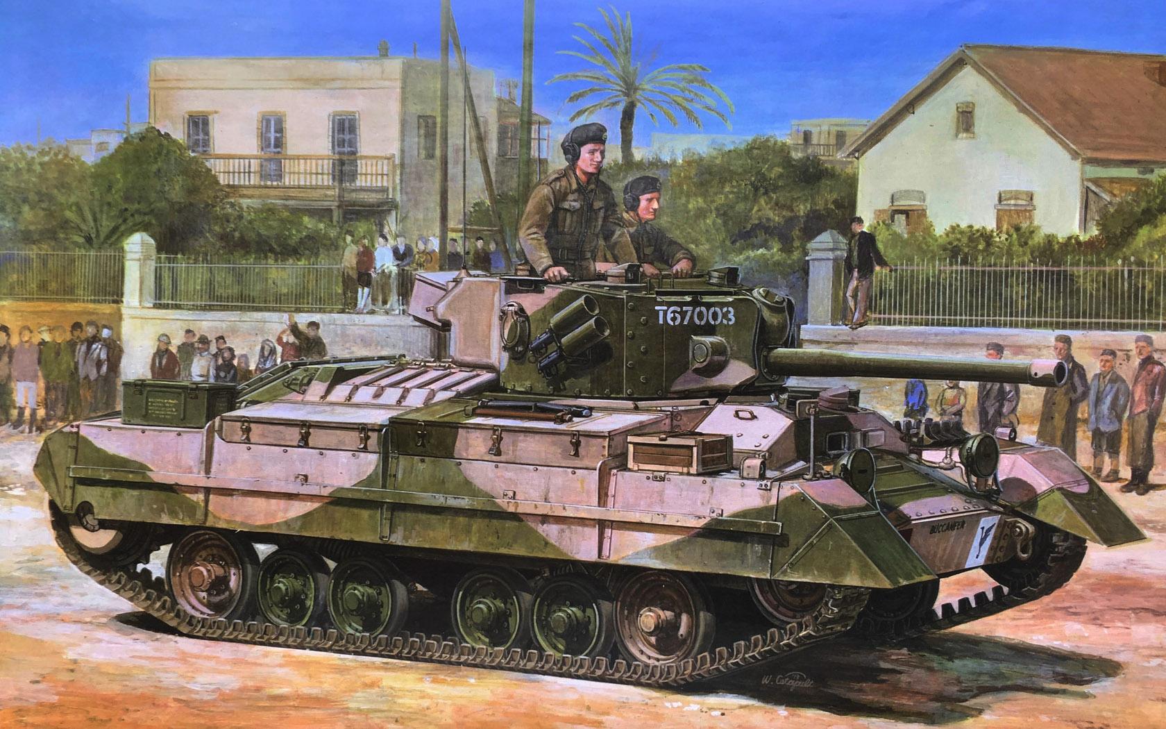 рисунок Infantry Tank Mk.III Valentine Mk.IX