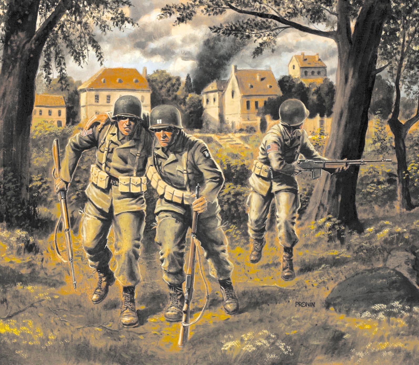 рисунок US Paratroopers (1944)