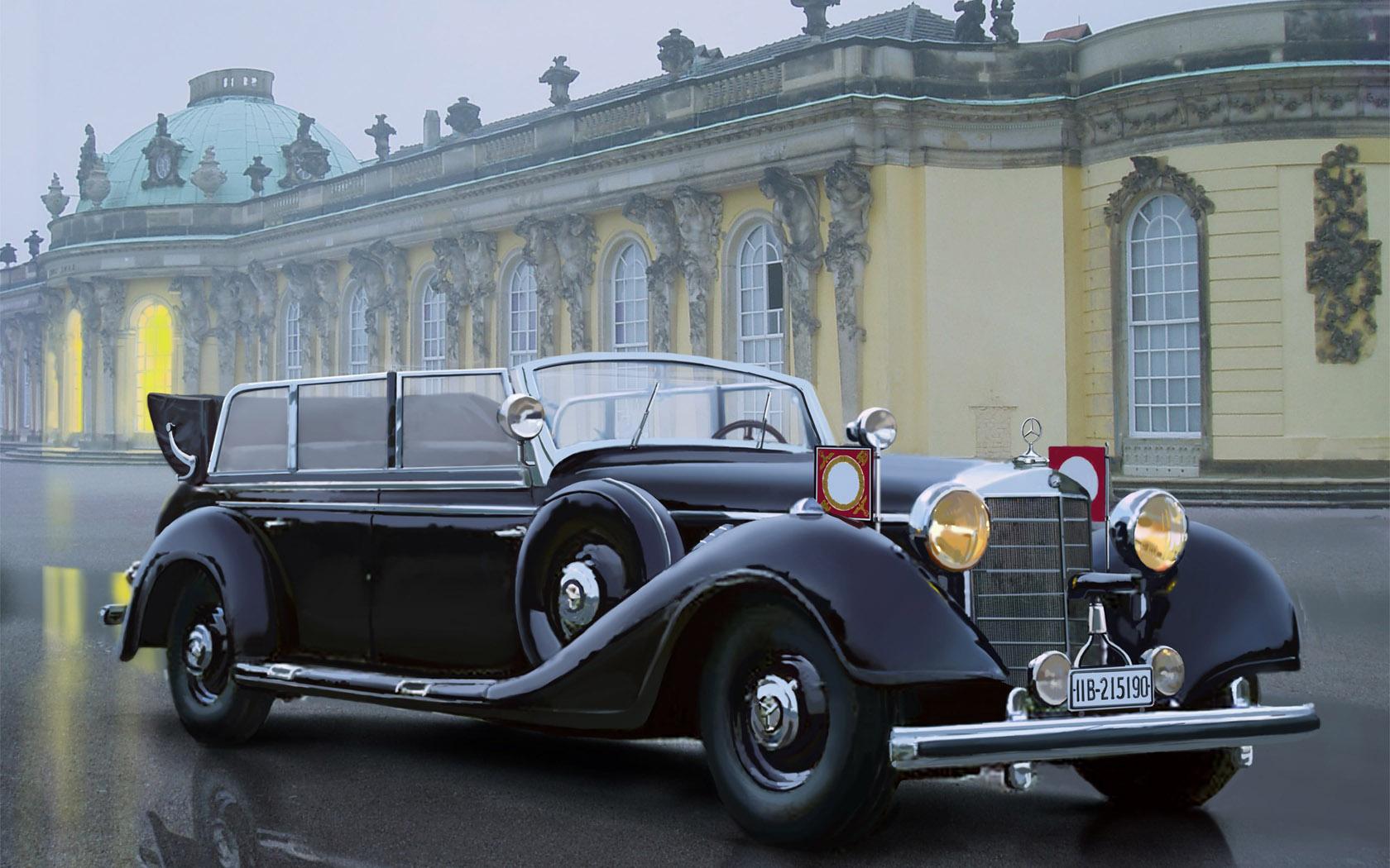 рисунок Mercedes-Benz 770K W150 Tourenwagen