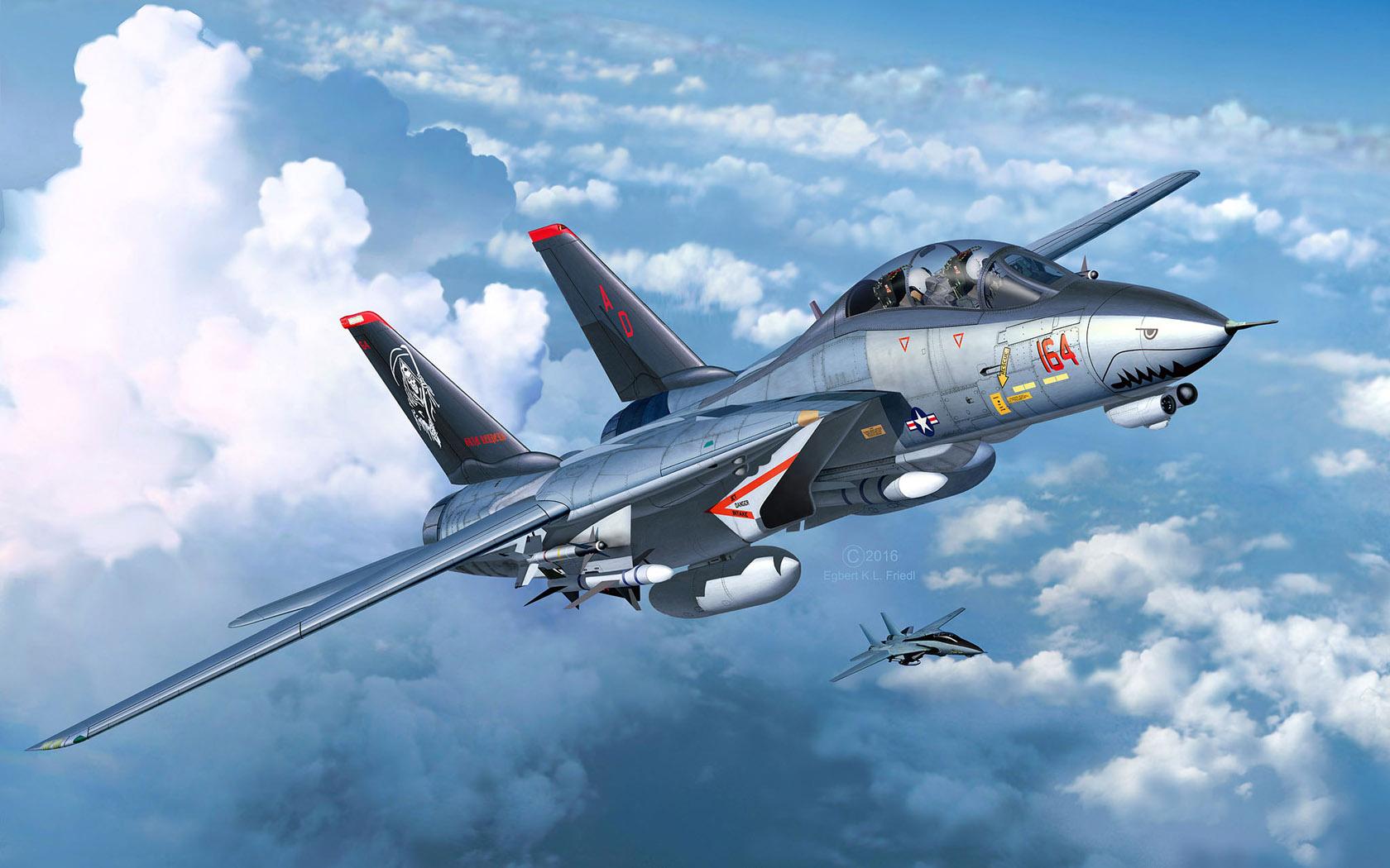 рисунок F-14D Super Tomcat