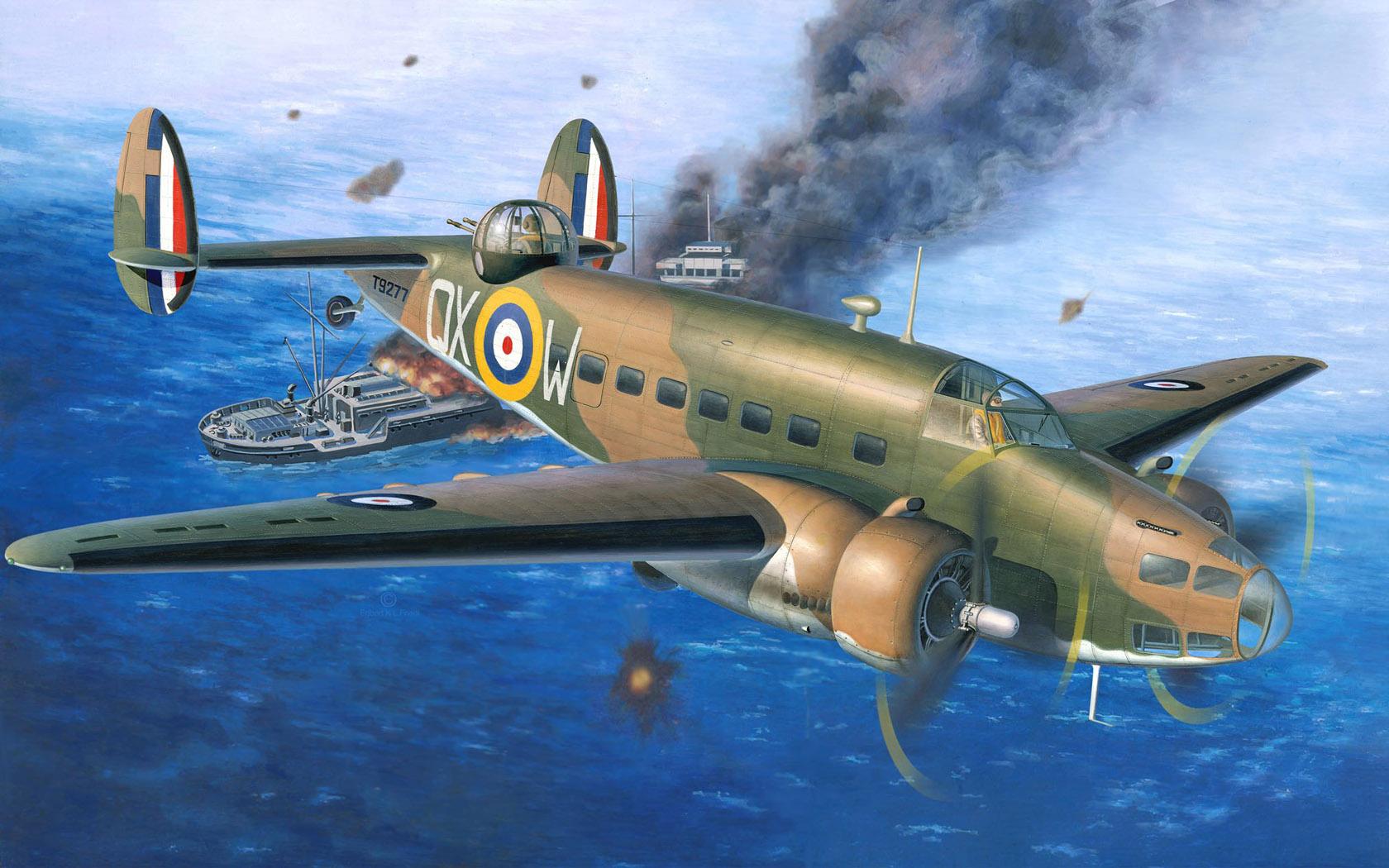 рисунок Lockheed Hudson