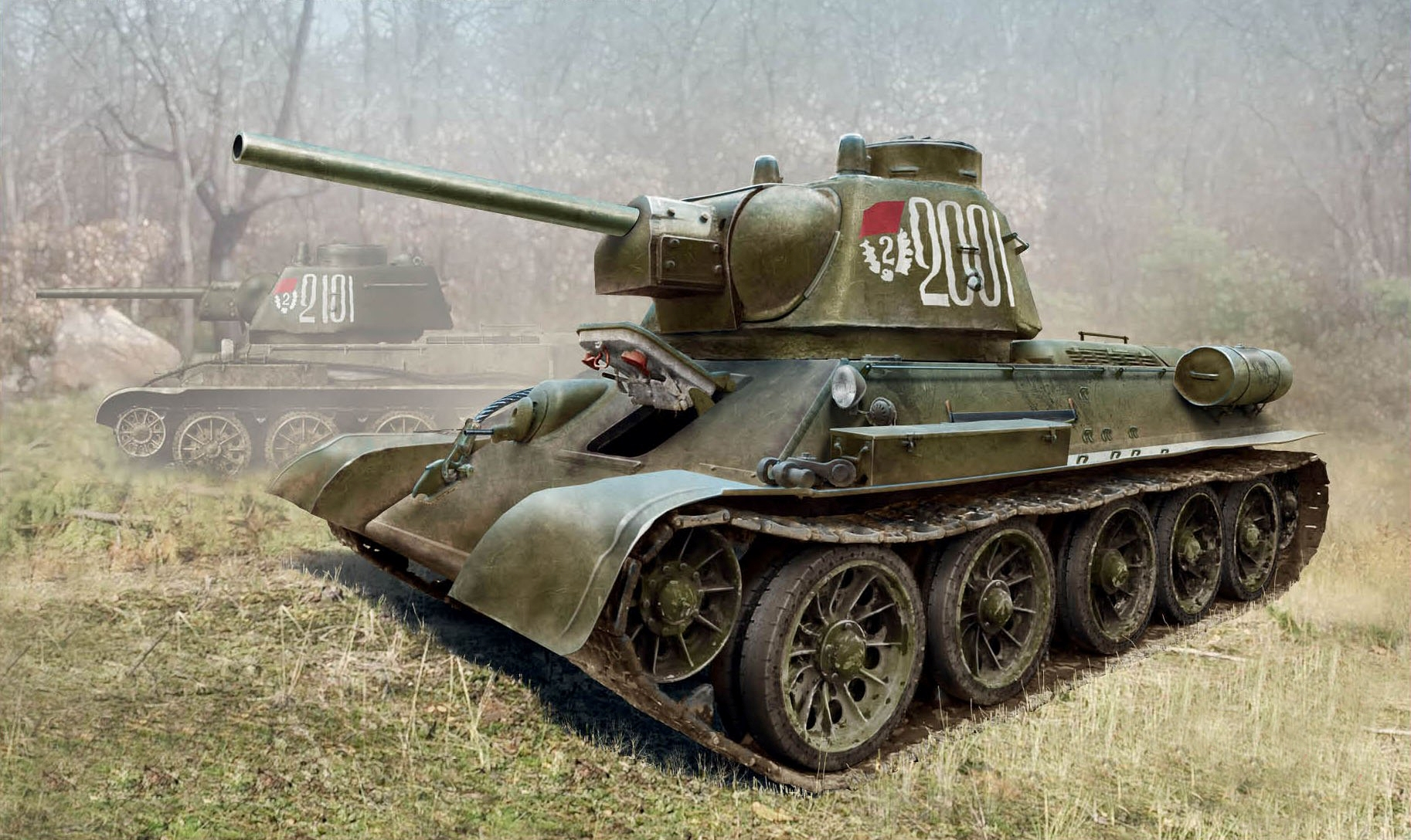 рисунок T-34/76 late 1943 production