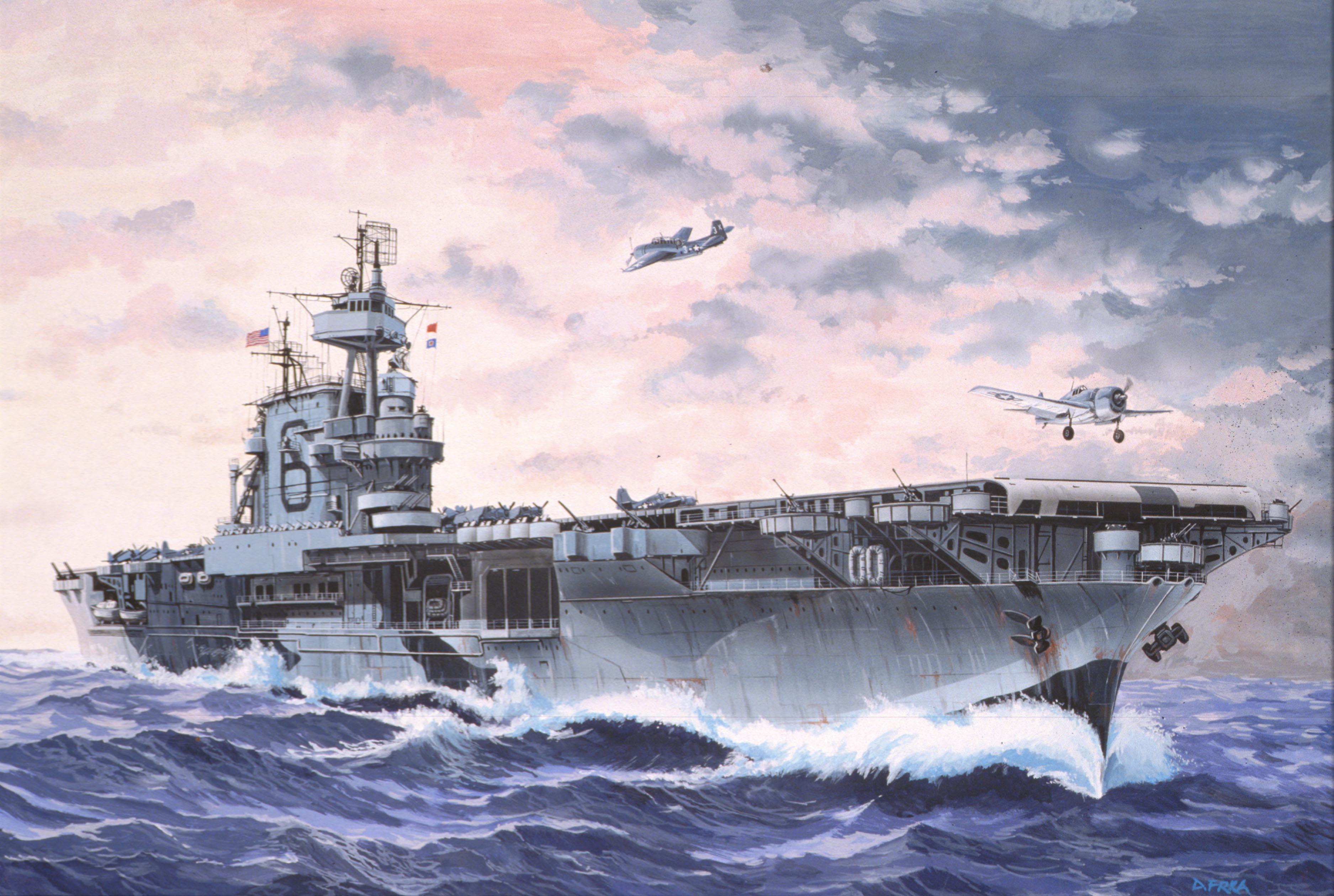 рисунок U.S.S  Enterprise