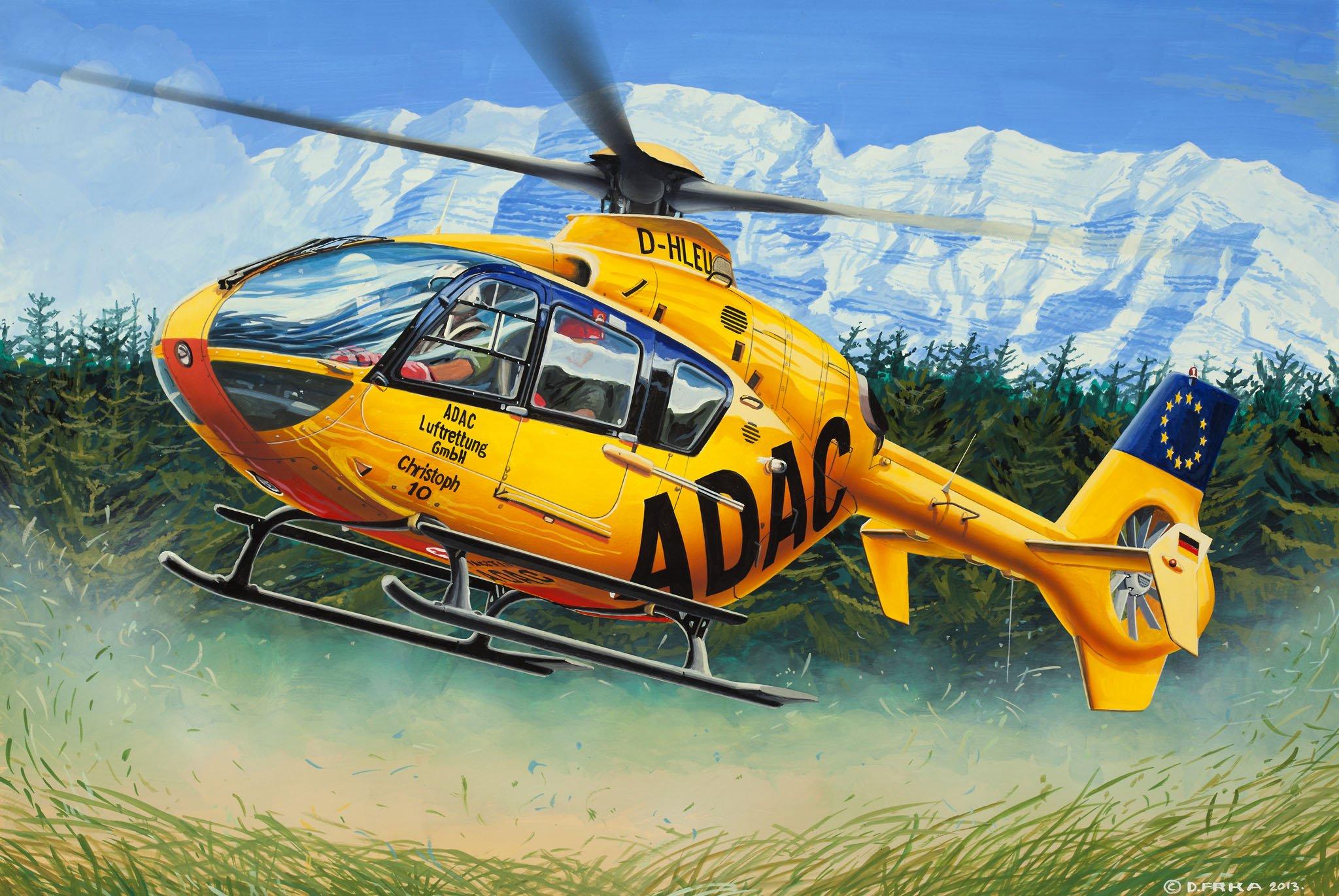 рисунок EC-135 ADAC