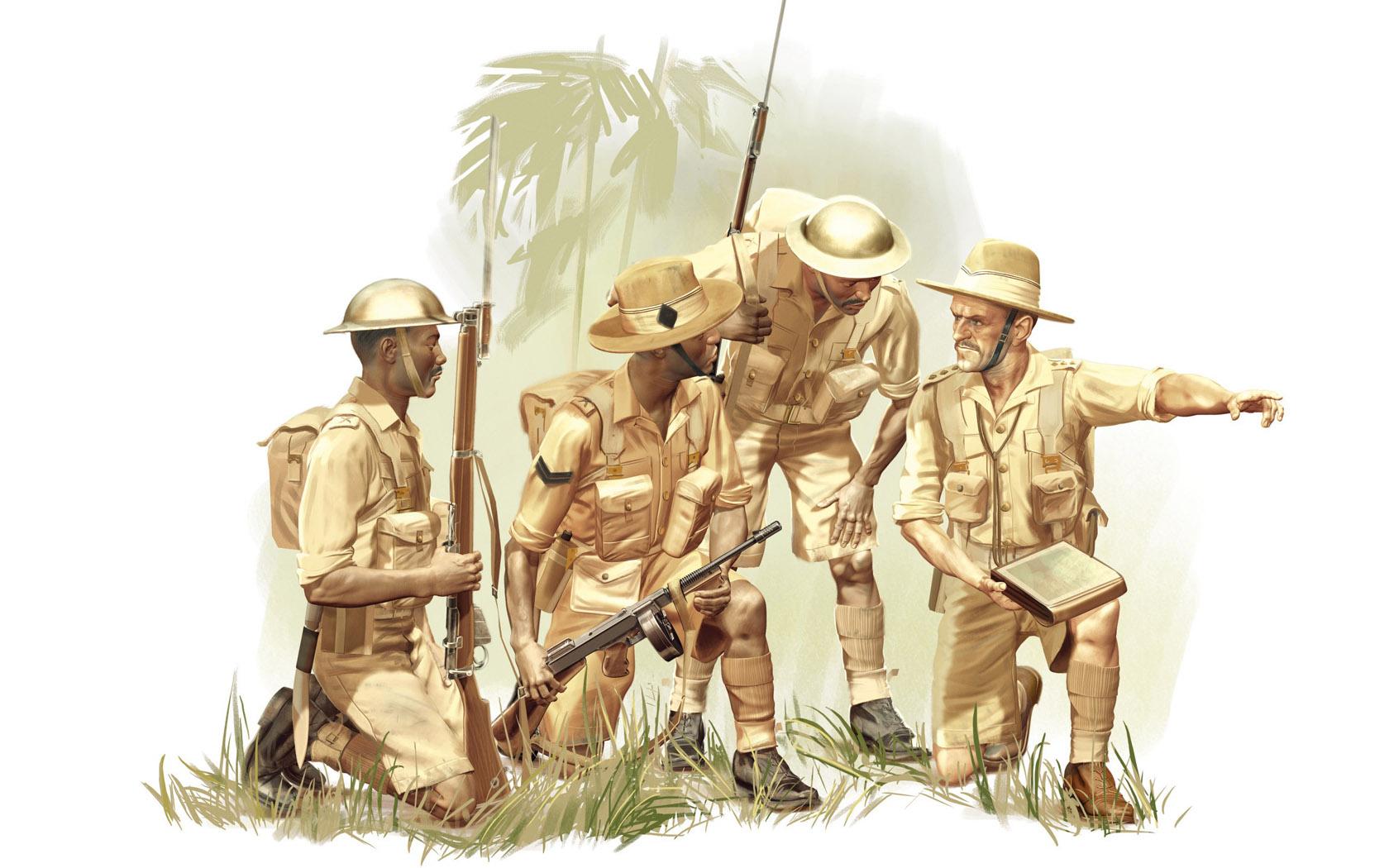рисунок Gurkha Rifles