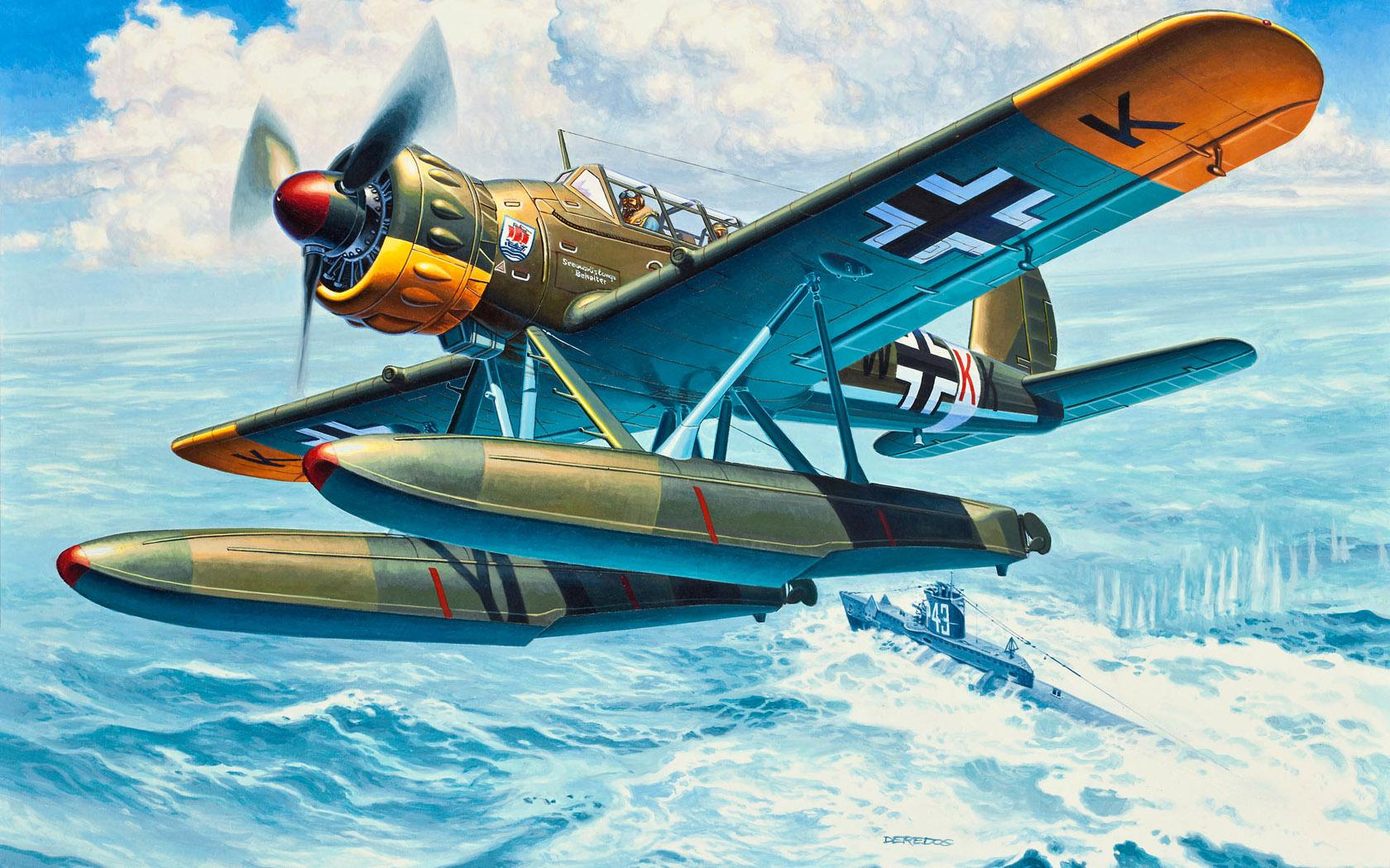 рисунок Ar 196 A-3