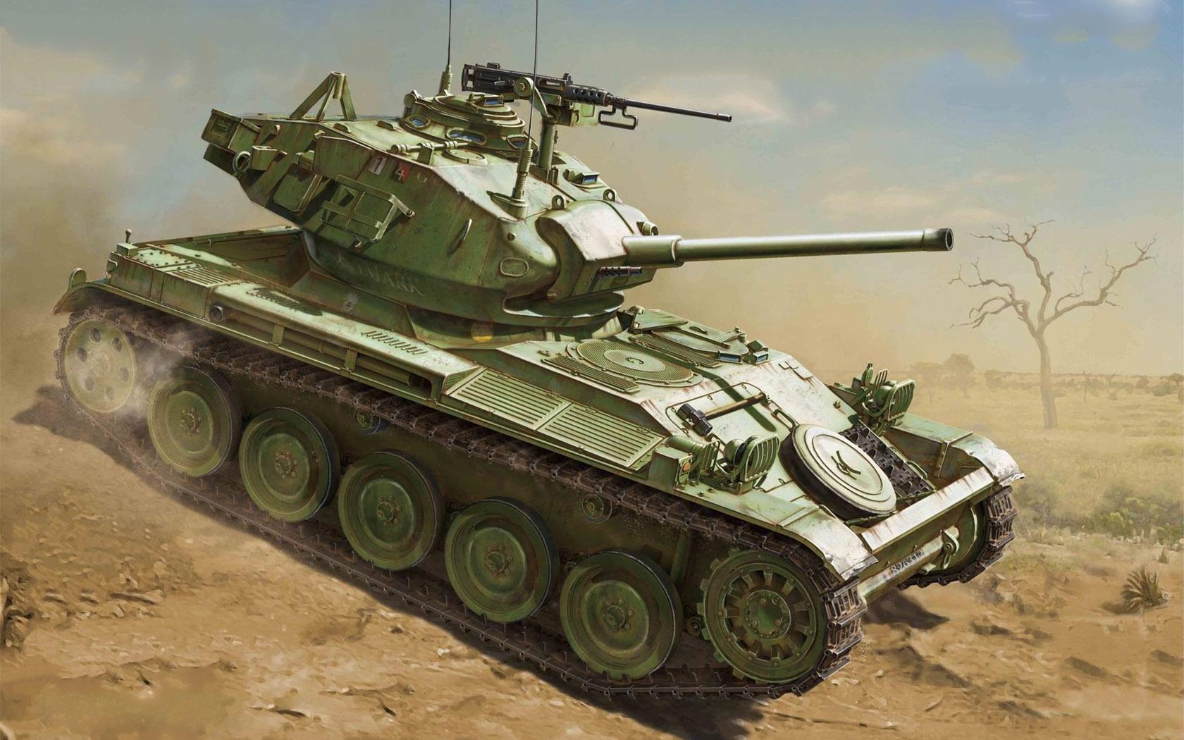 рисунок AMX-13 Chaffee Turret