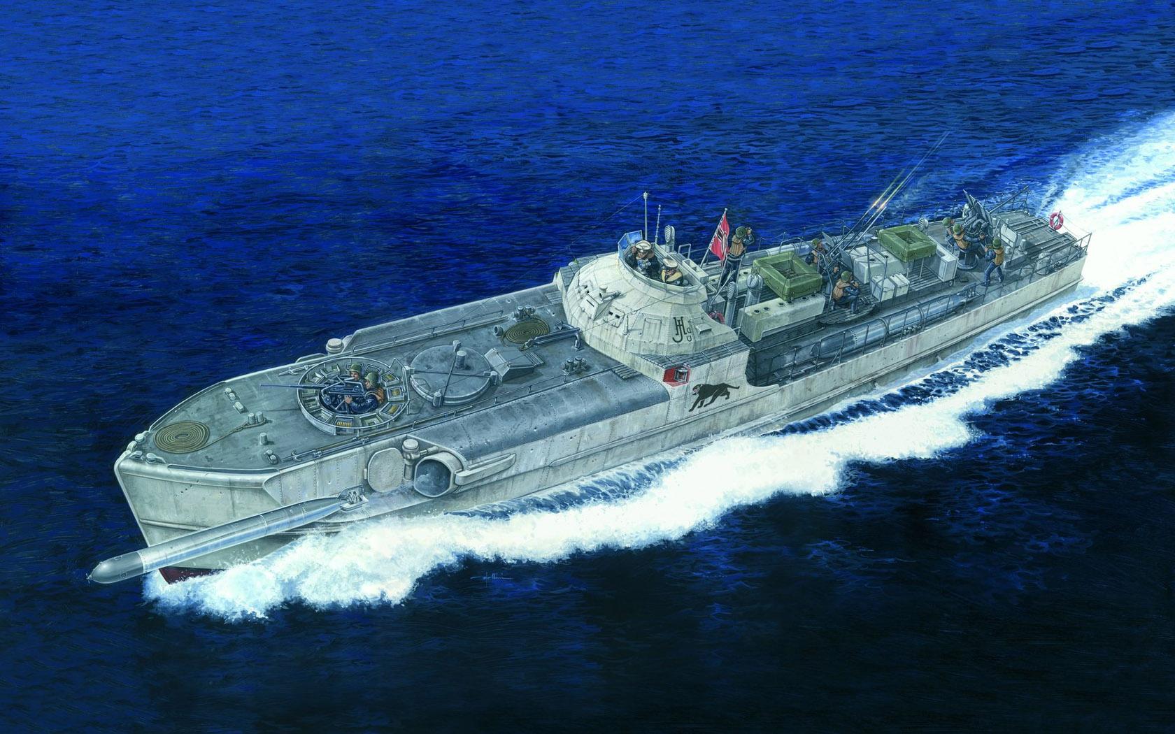 рисунок Schnellbot Typ S-100