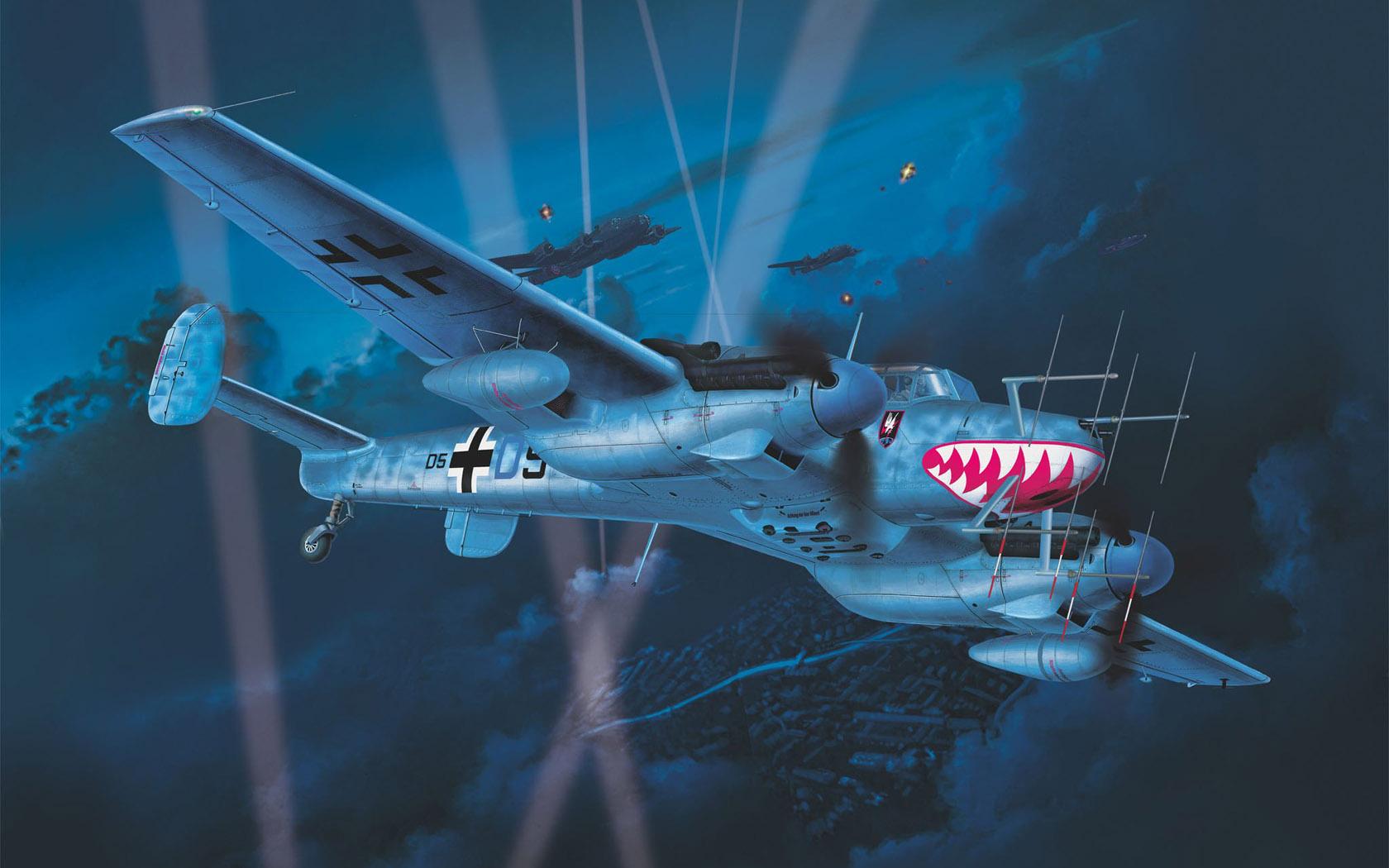 рисунок Bf-110 G-4
