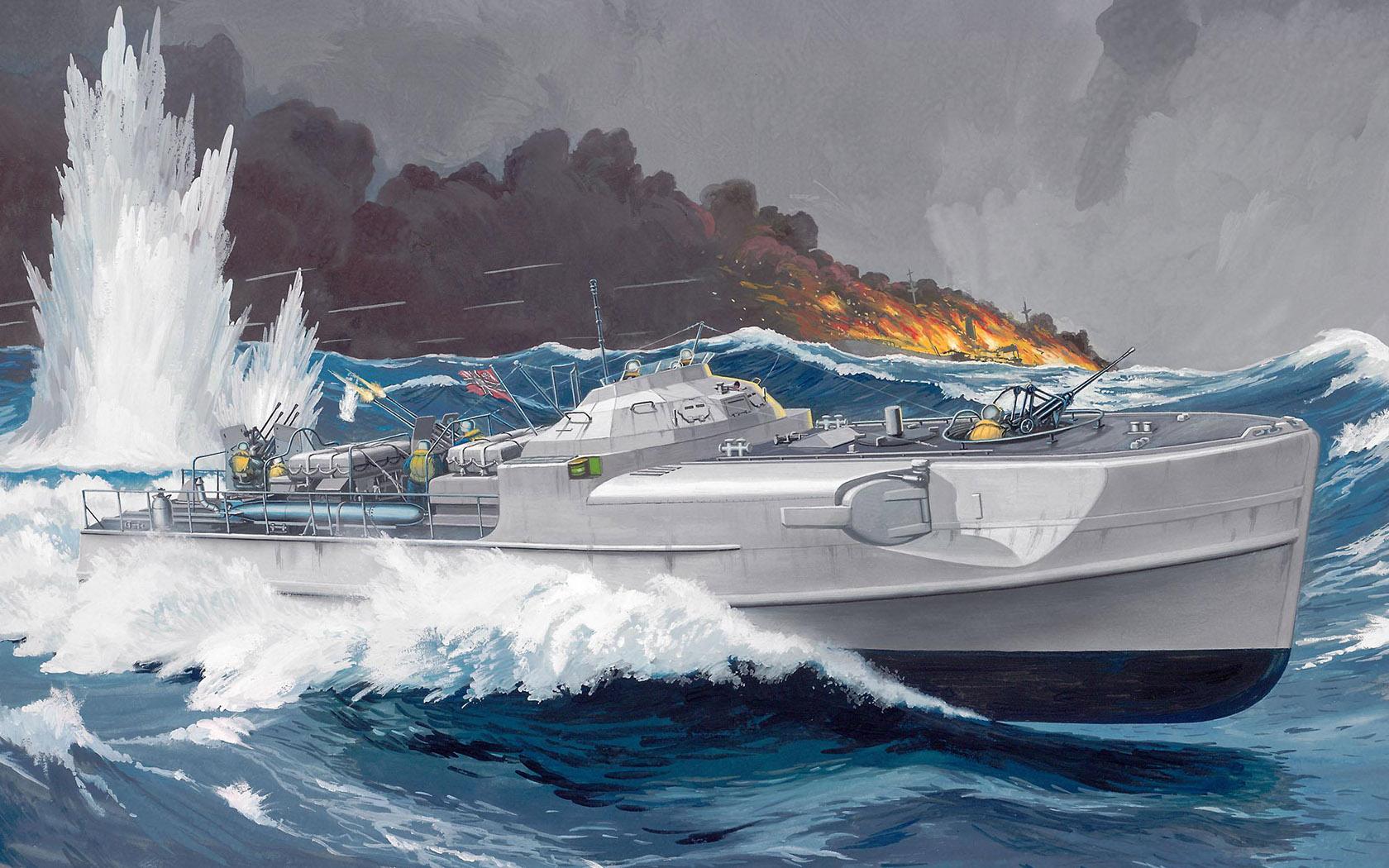 рисунок Schnellboot S-100