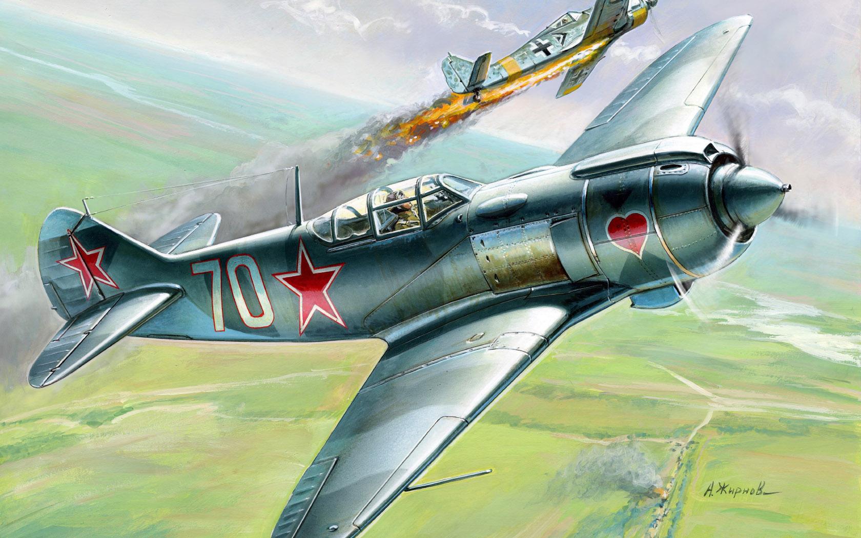 рисунок Ла-5ФН