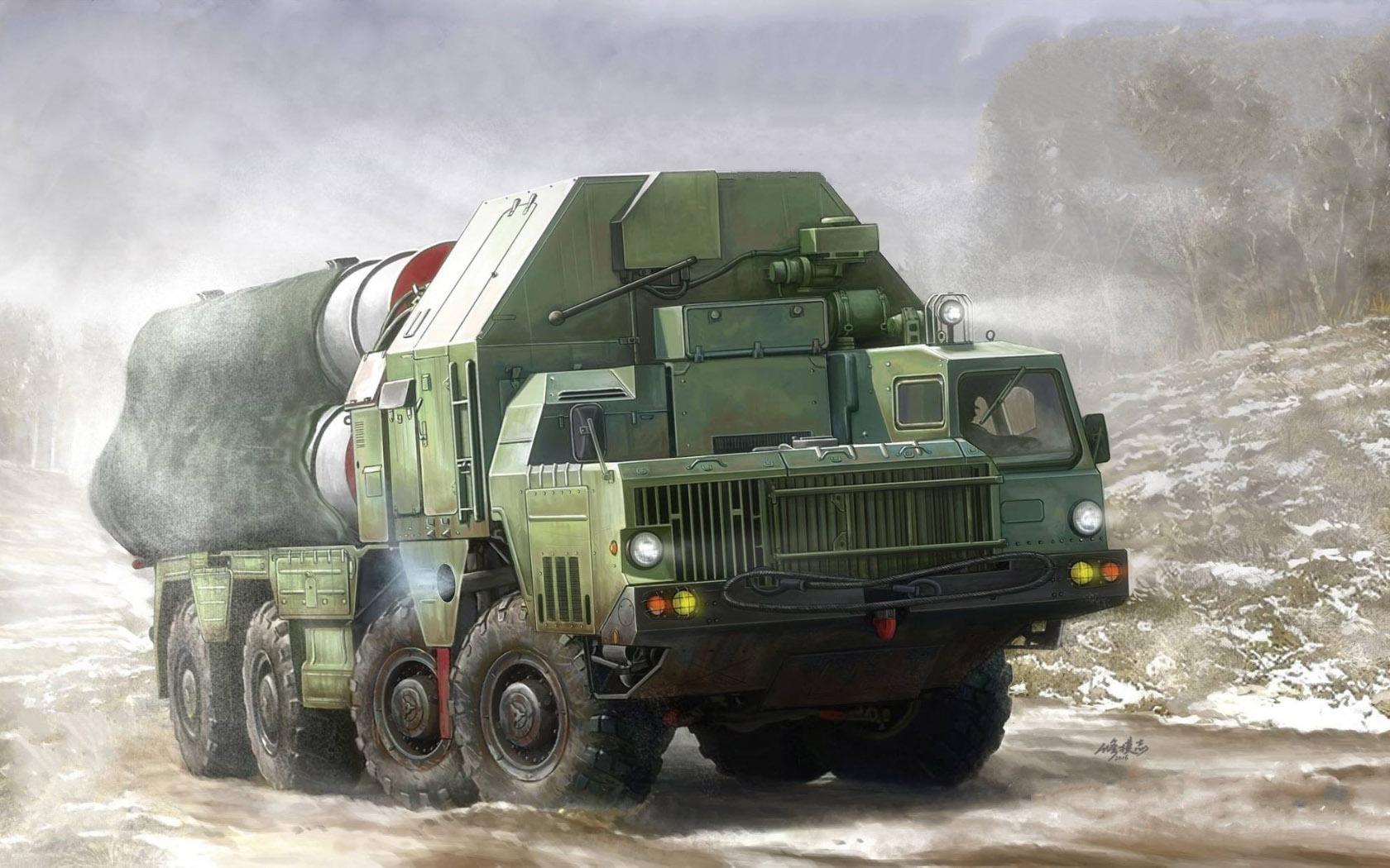 рисунок С-300 на шасси МАЗ-543