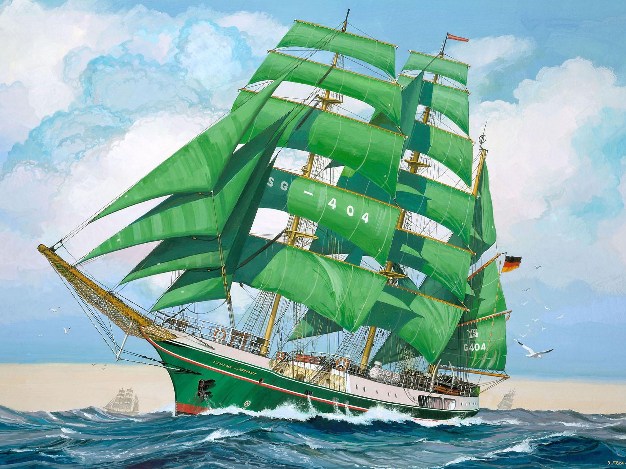 рисунок Alexander von Humboldt