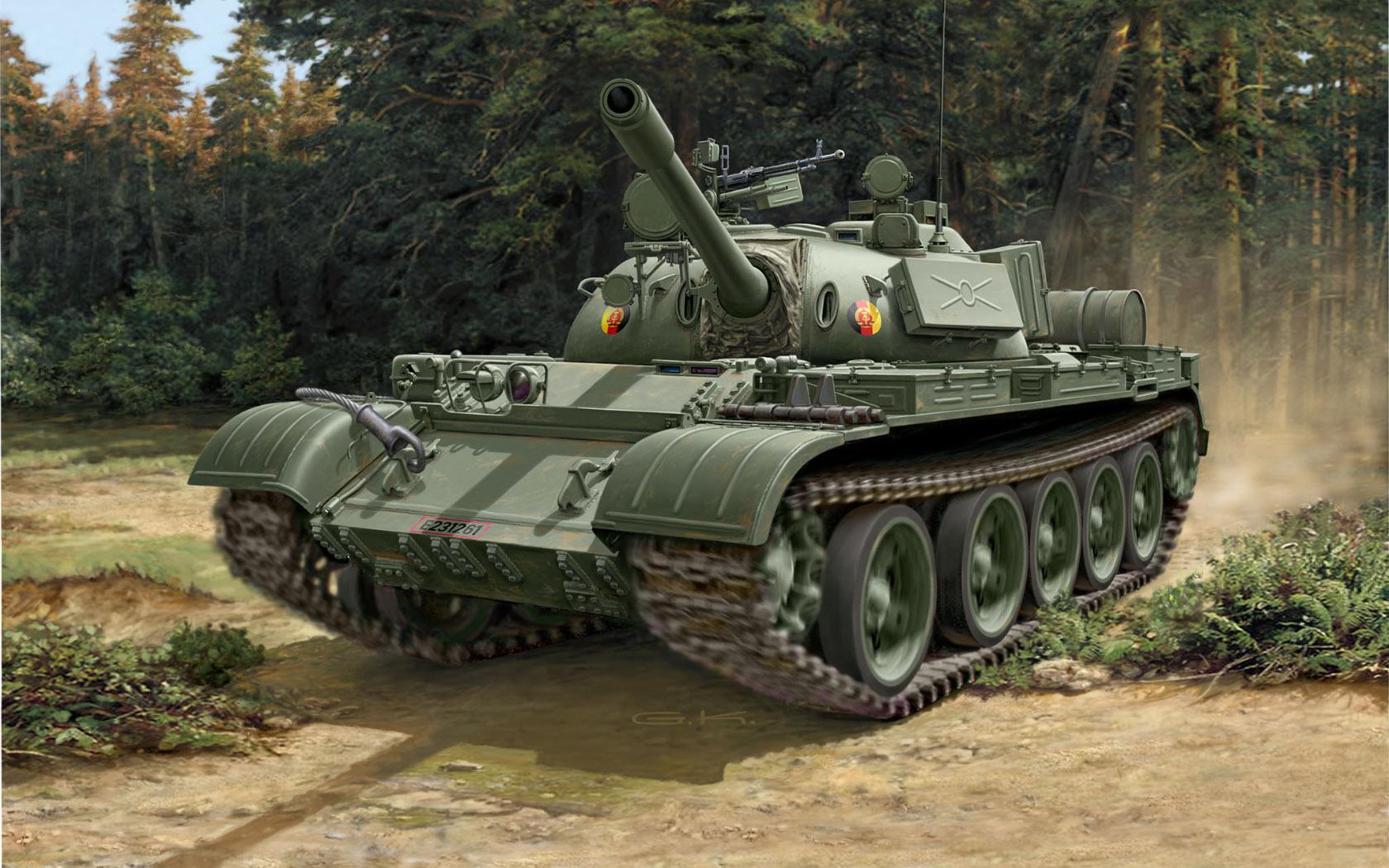 рисунок T-55A