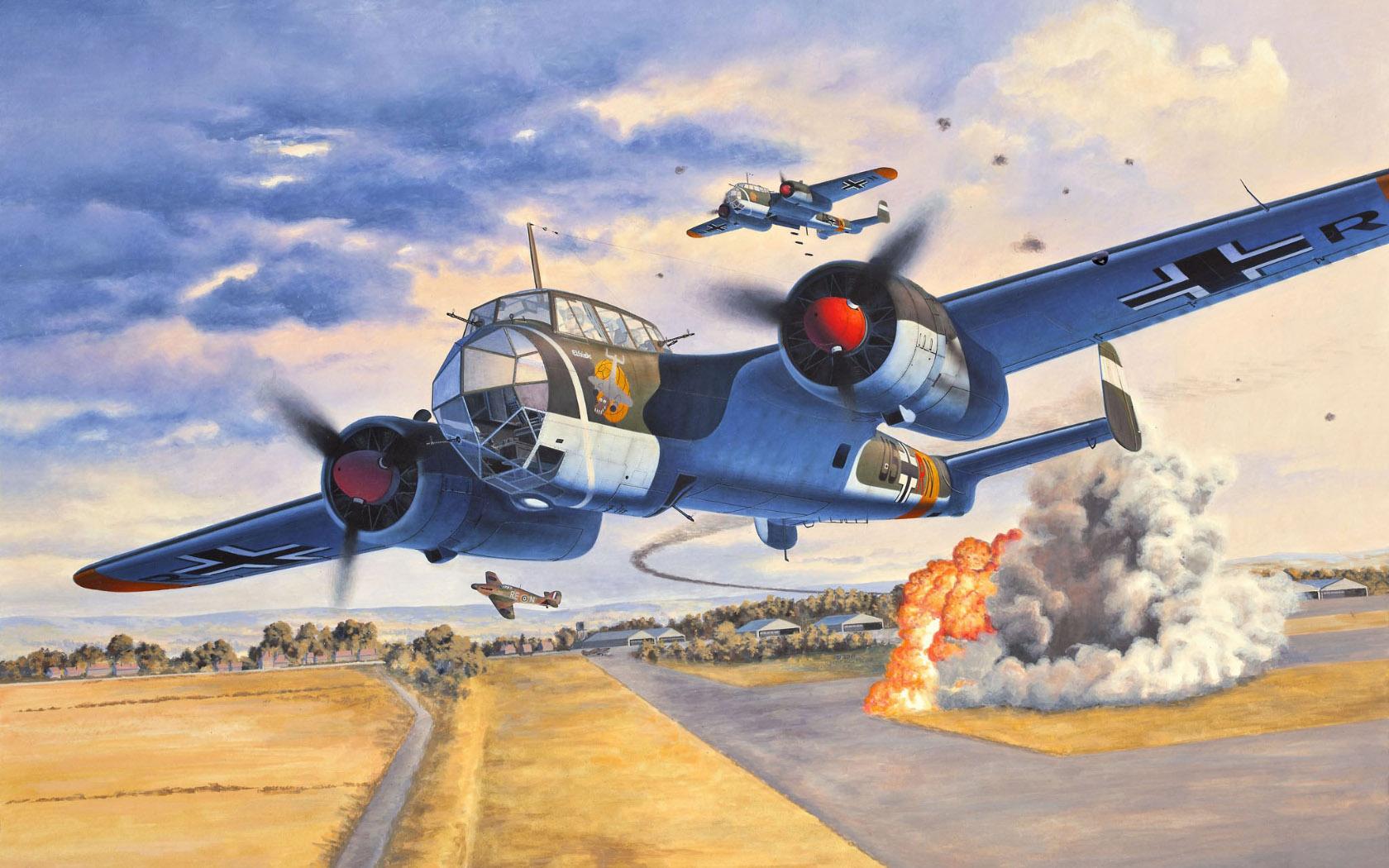 рисунок Do-17 Z-2