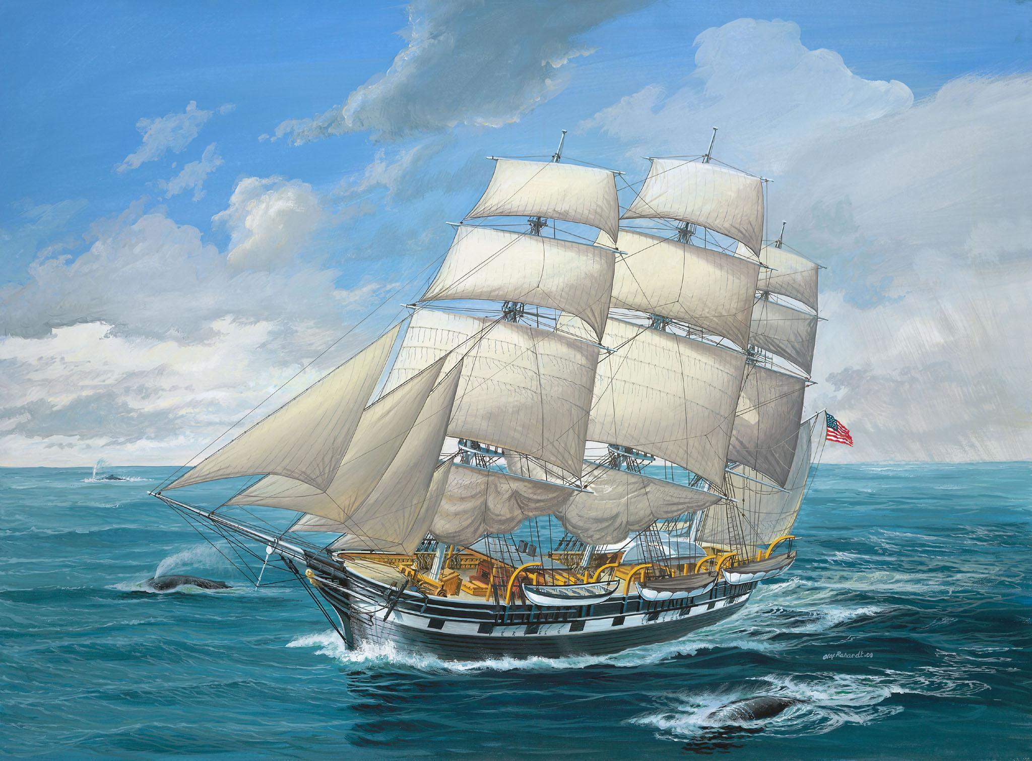 рисунок Charles W. Morgan
