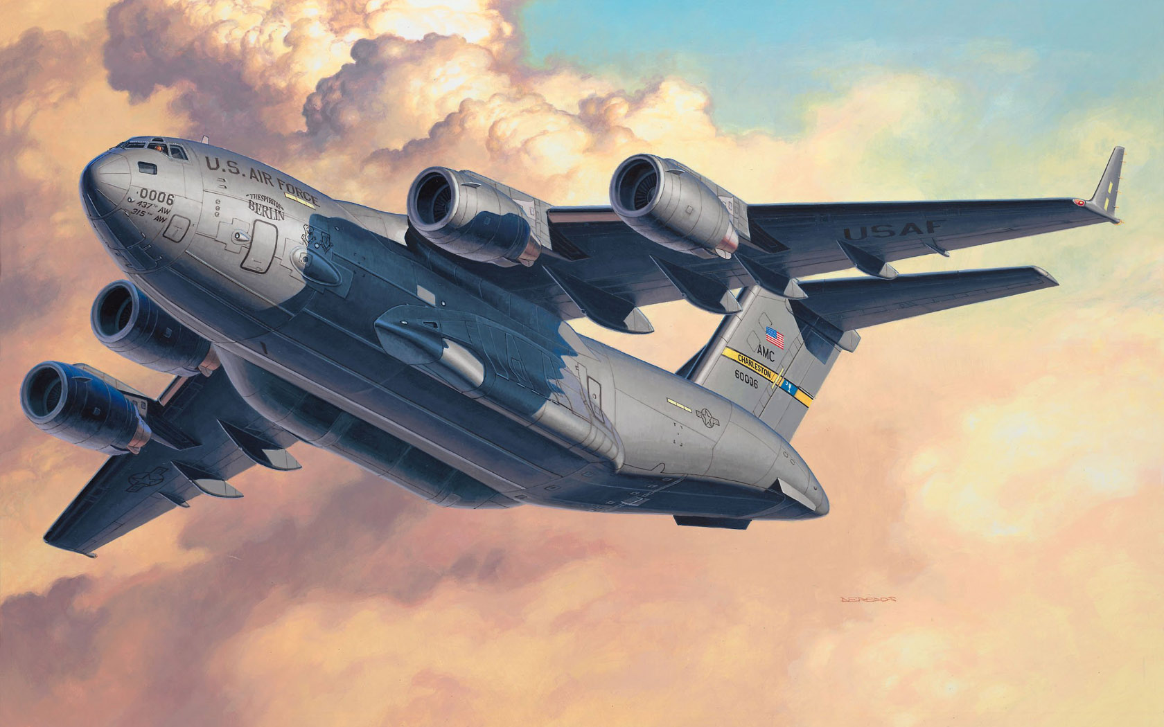 рисунок C-17A Globemaster III