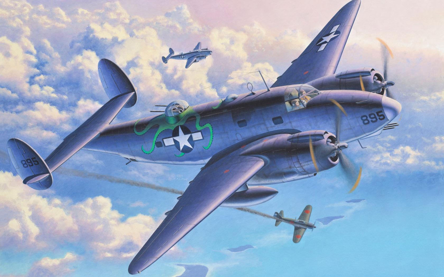 рисунок Lockheed PV-1 Ventura