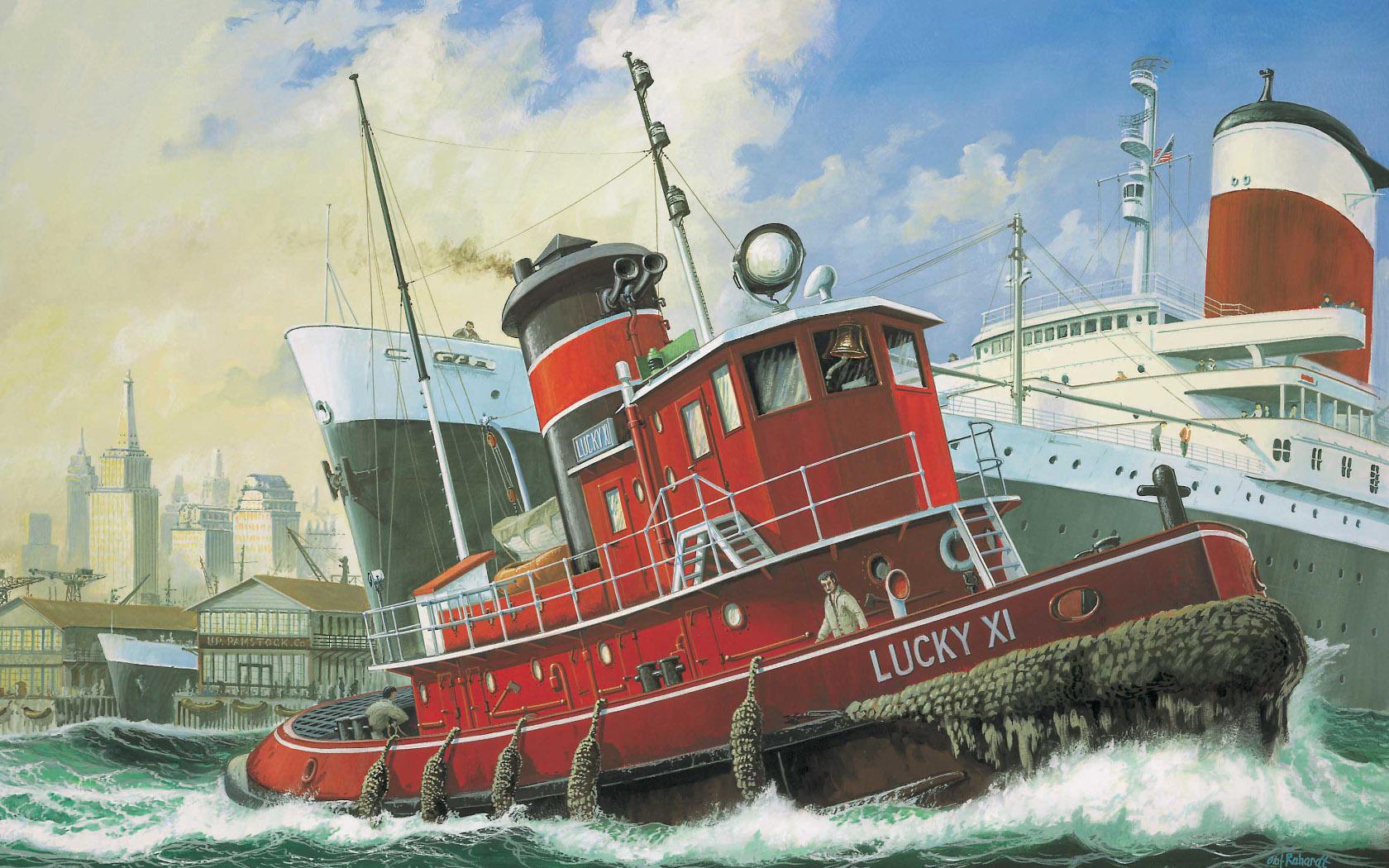 рисунок Lucky XI