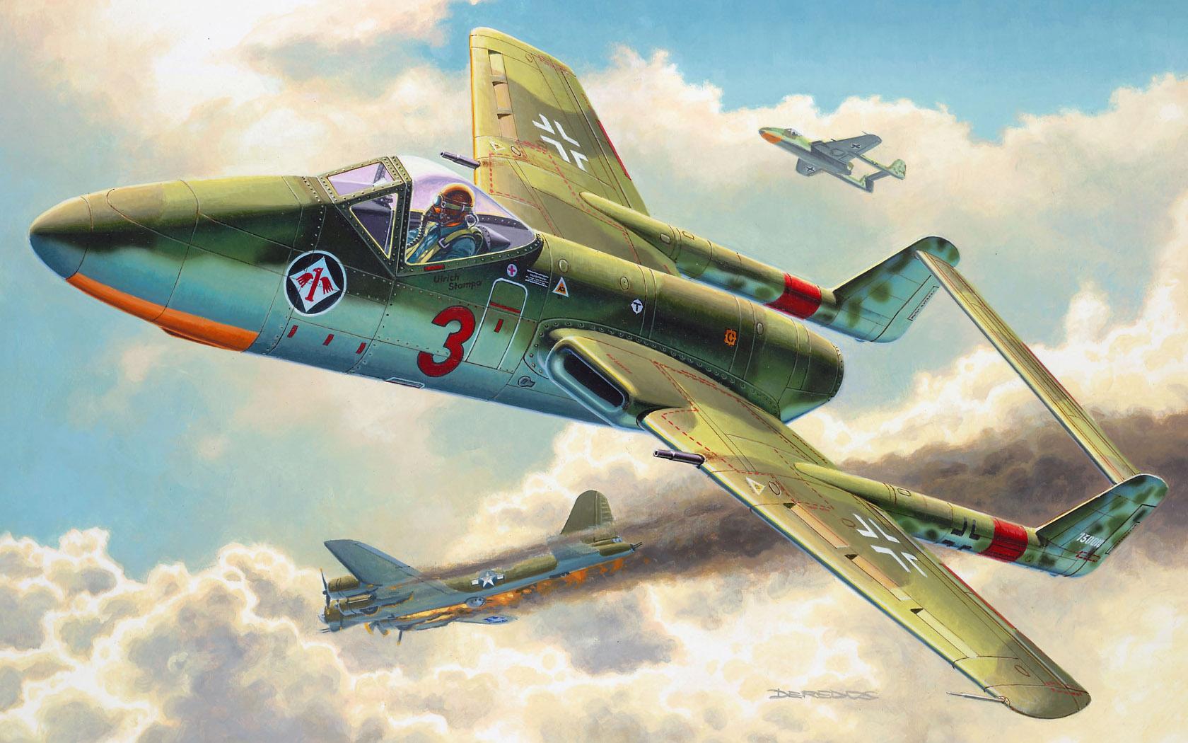 рисунок Focke Wulf TL-Jager Flitzer