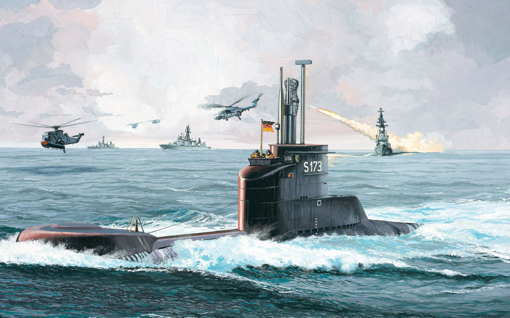 рисунок U-Boot Klasse 206A
