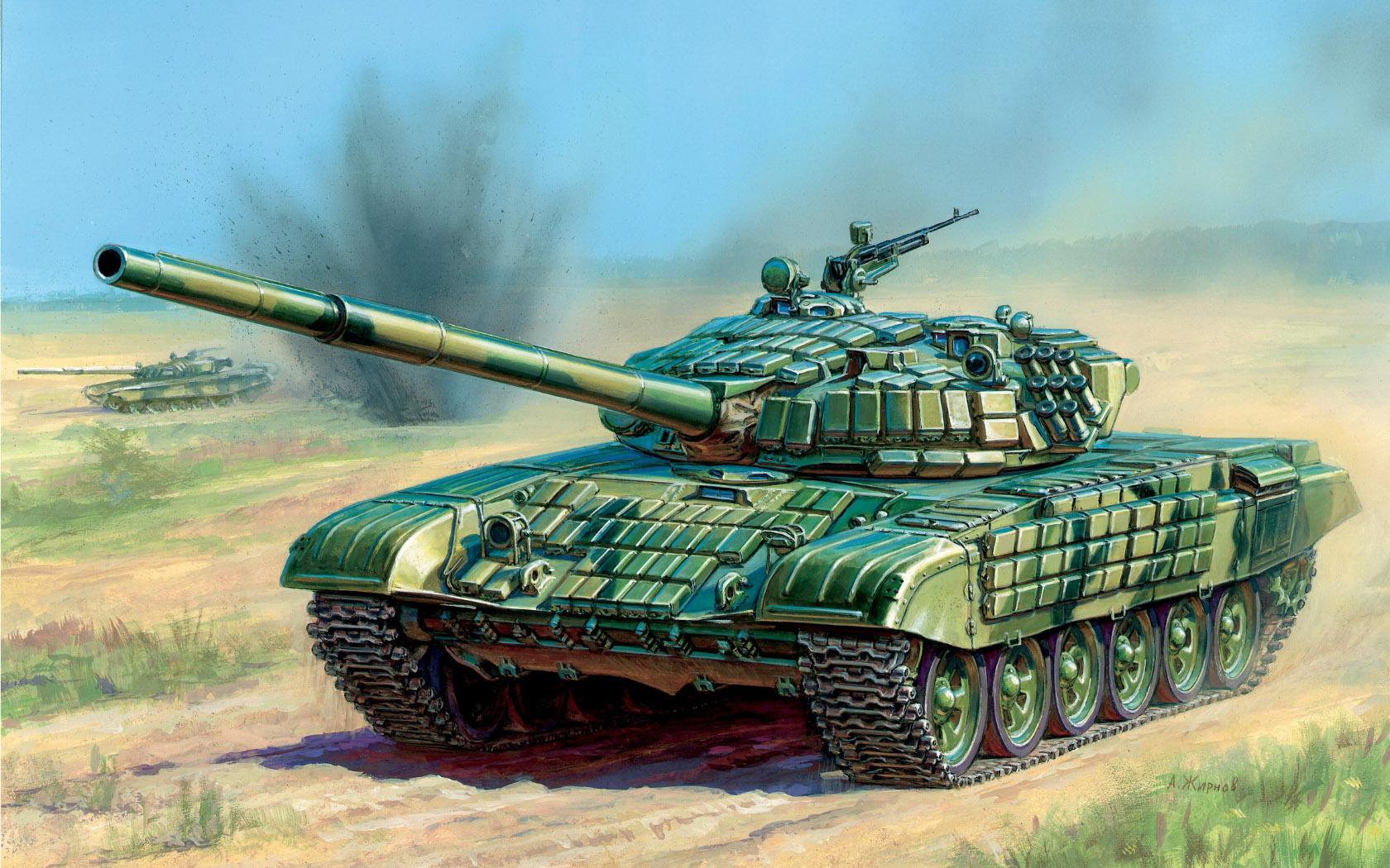 рисунок Т-72Б