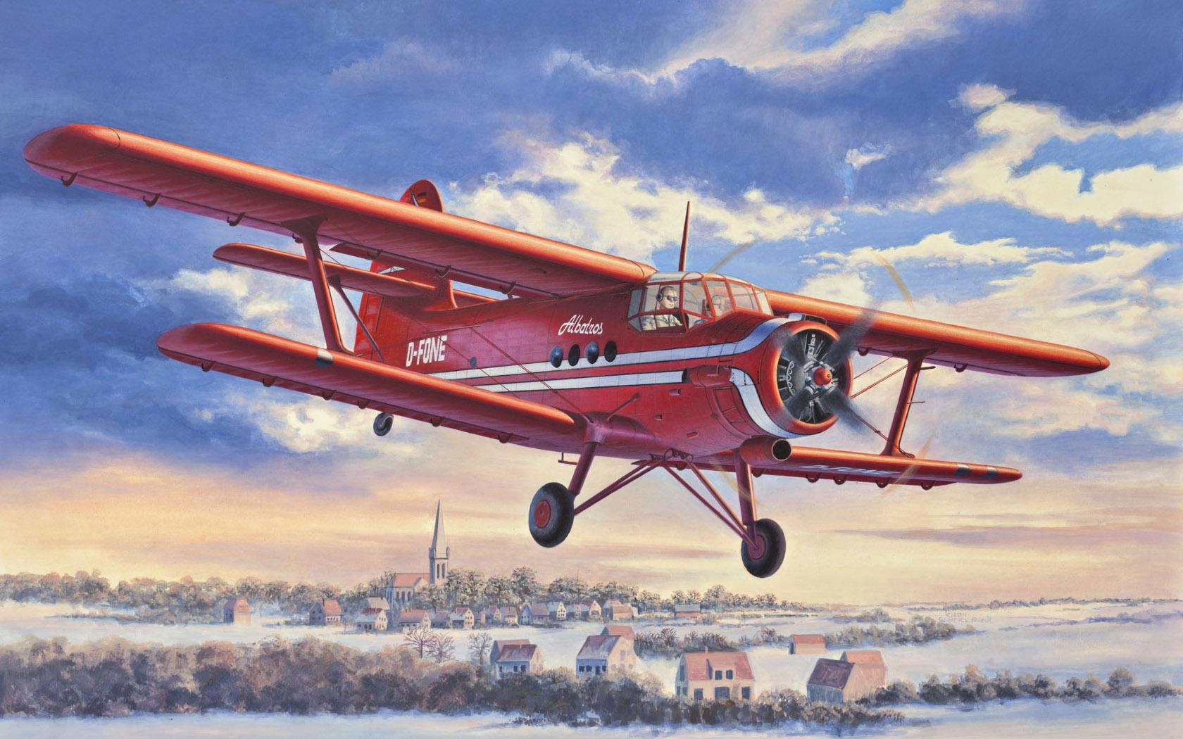 рисунок Antonov An-2