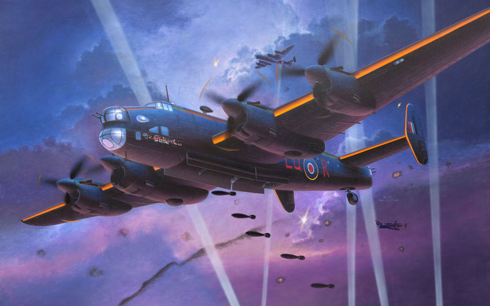 рисунок Handley Page Halifax B