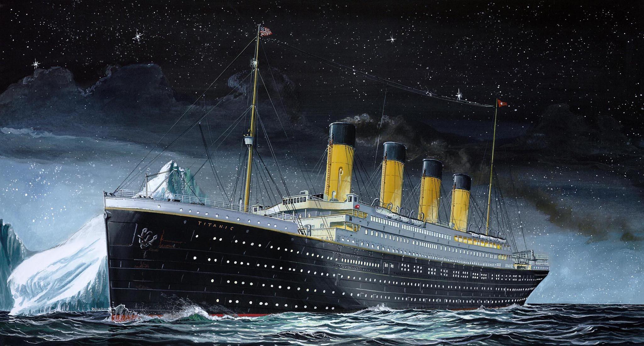 рисунок Titanic