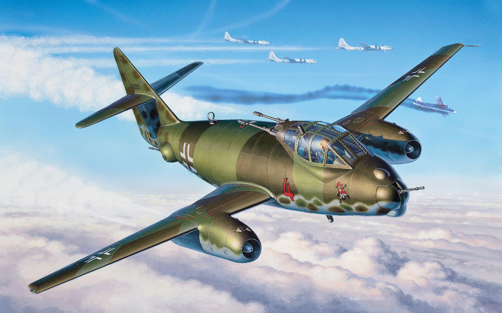 рисунок Messerschmitt Me P.1099B