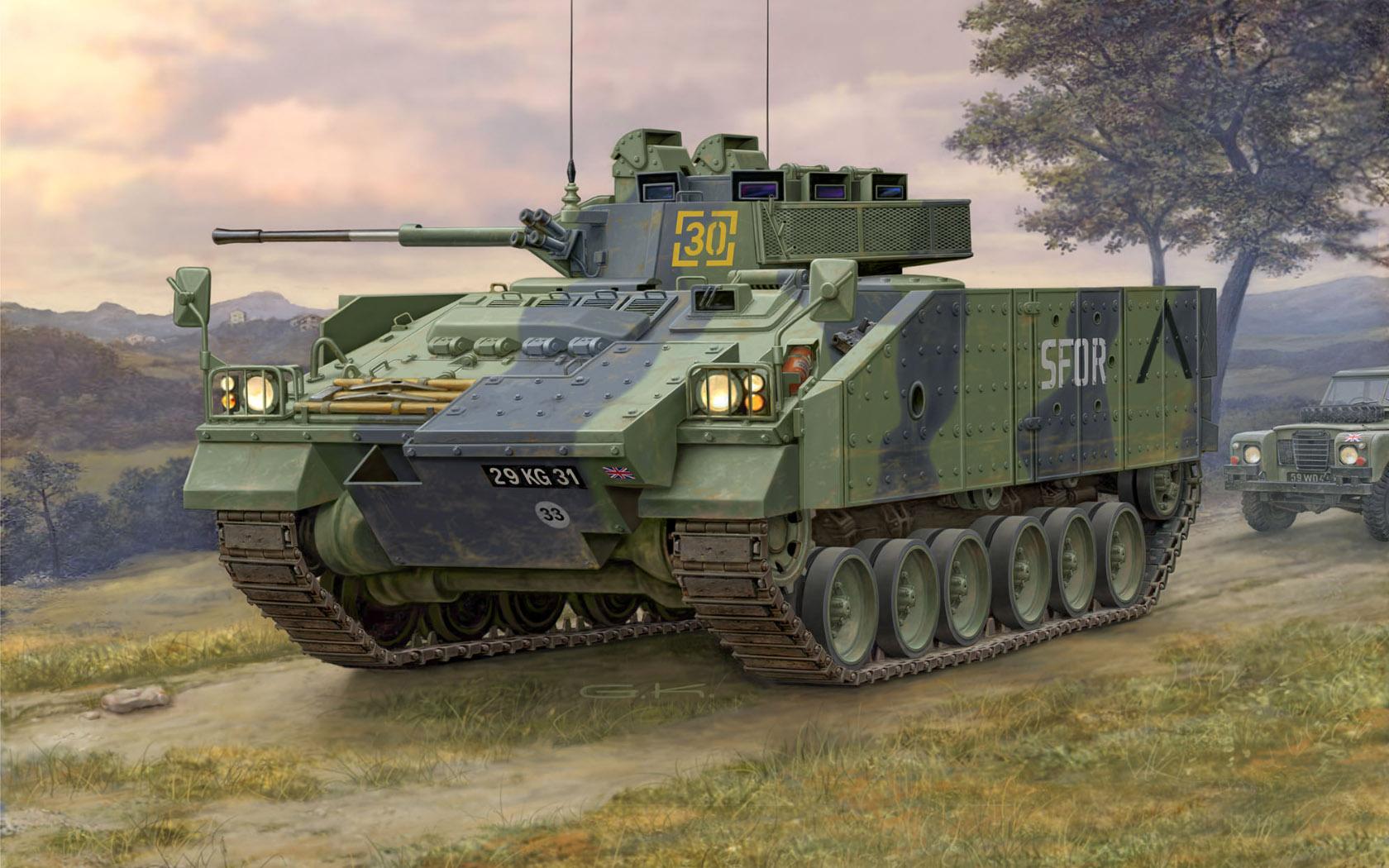 рисунок Warrior MCV