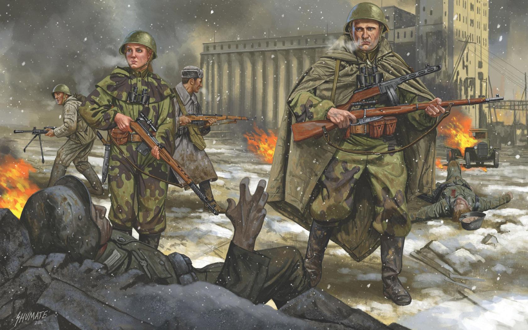 рисунок Stalingrad, December 1942