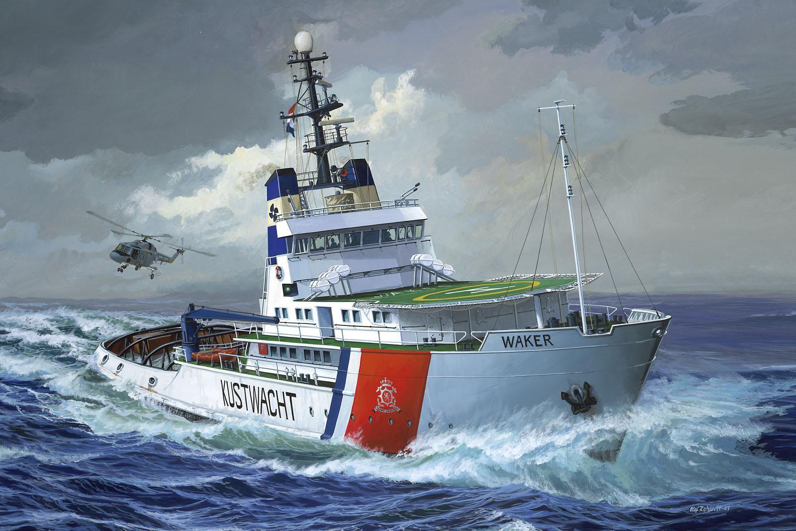 рисунок Coast Guard ETV Waker