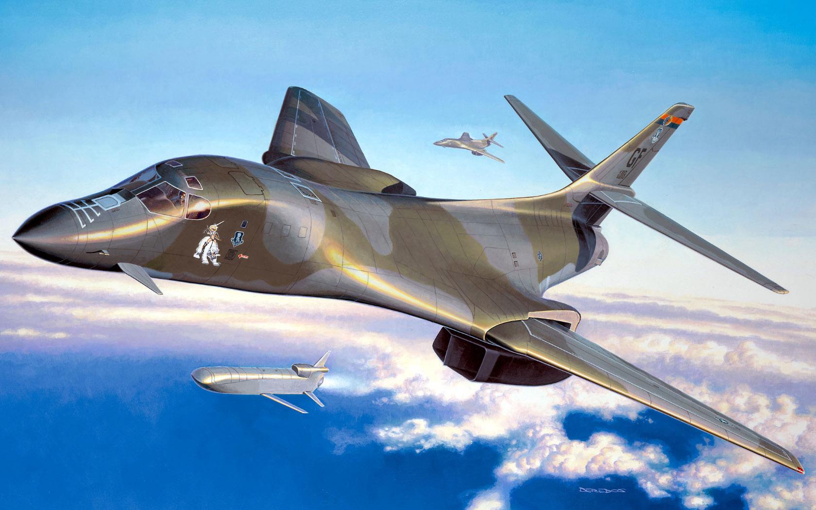 рисунок B-1B Lancer