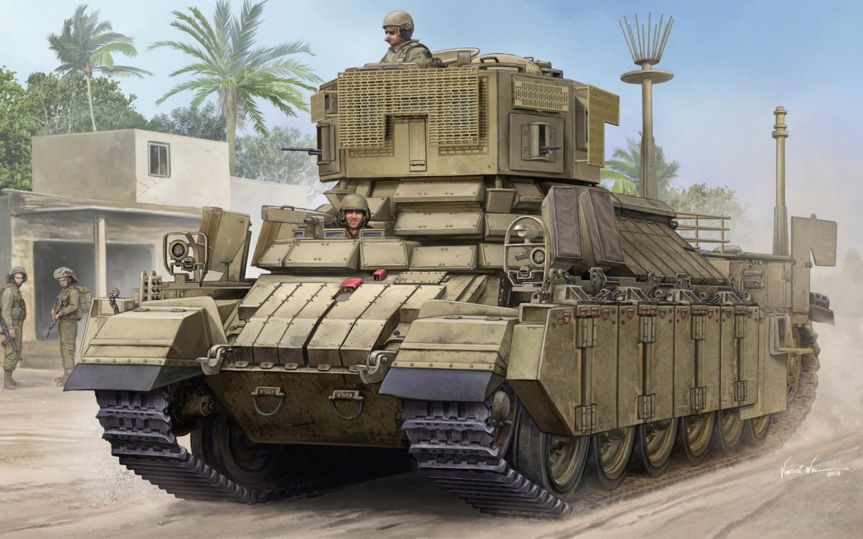 рисунок IDF APC Nagmachon (Doghouse I)