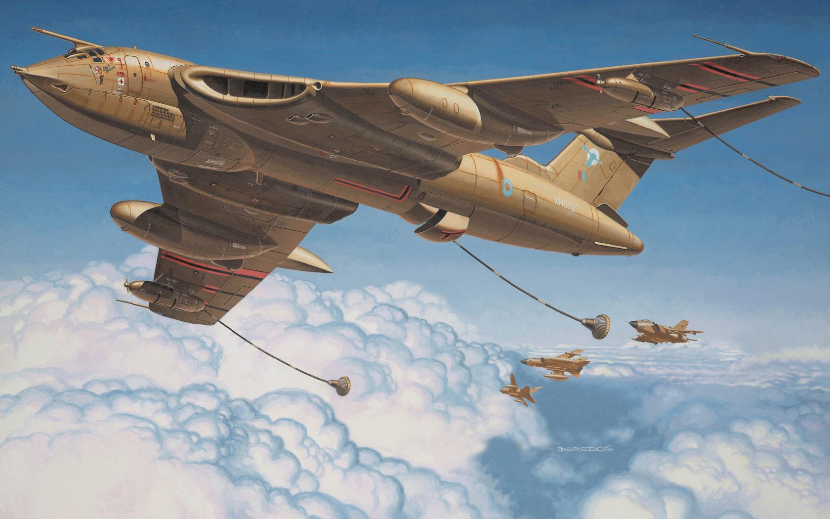 рисунок Handley Page Victor K Mk 2