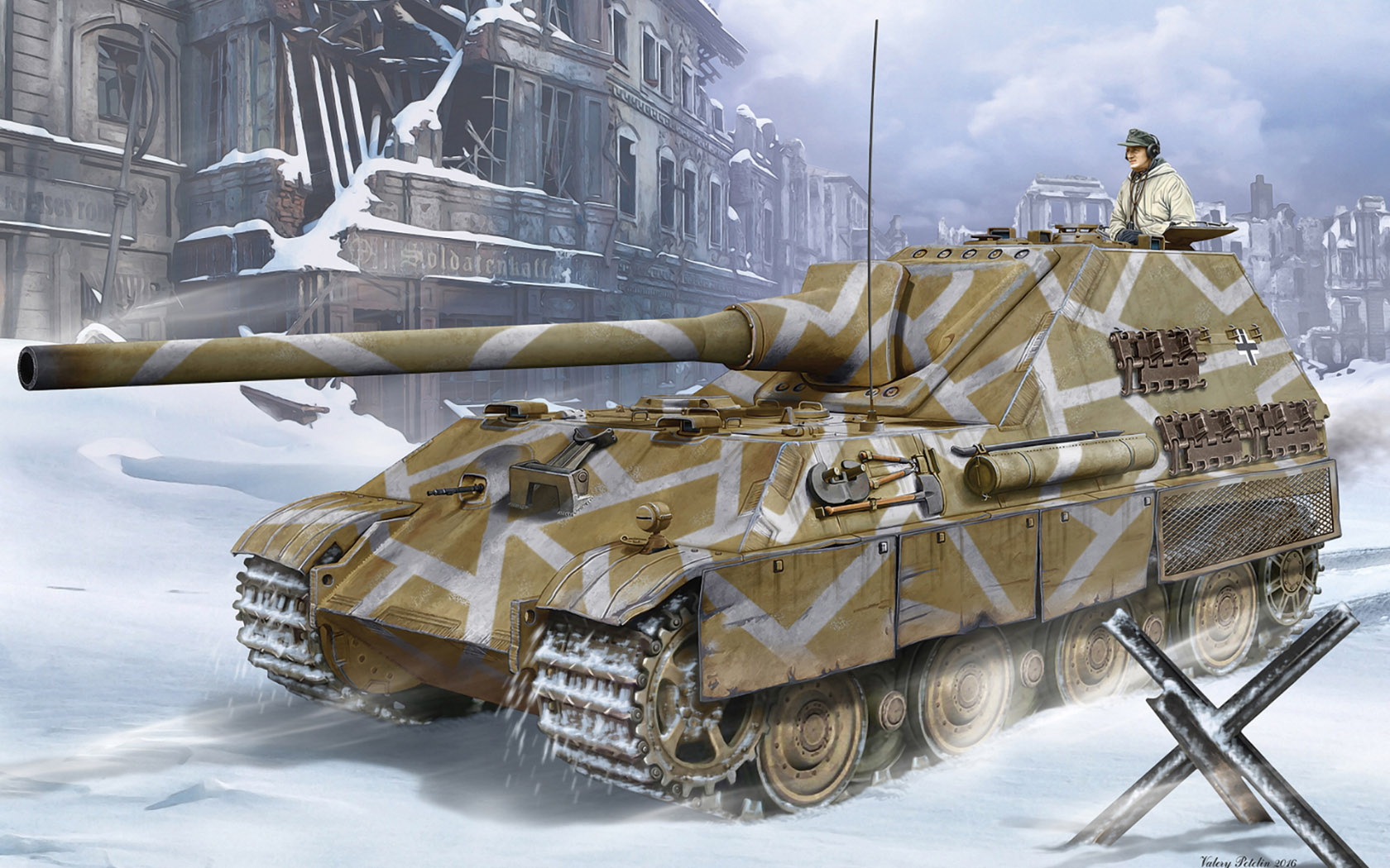 рисунок Jagdpanther II