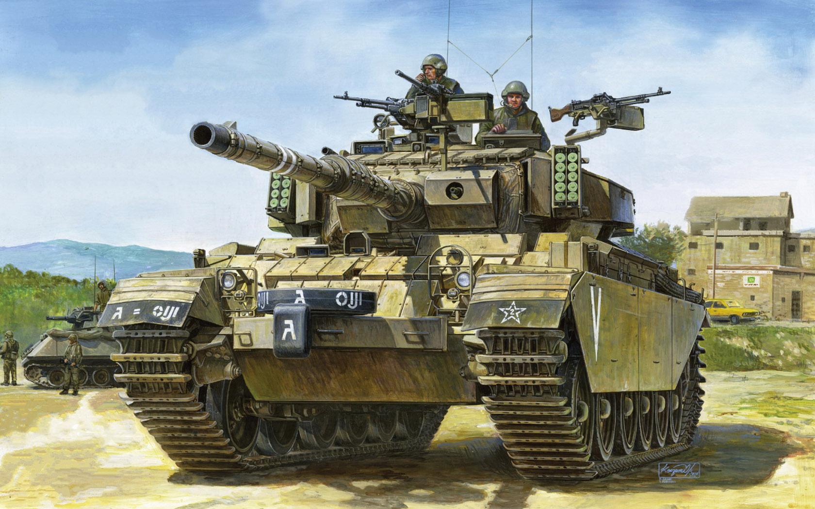 рисунок IDF Sho't Kal Dalet w/Battering Ram