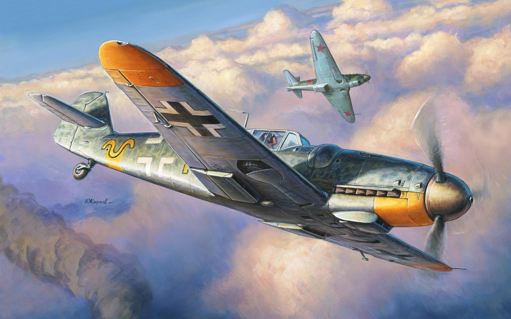 рисунок Bf-109 G-6