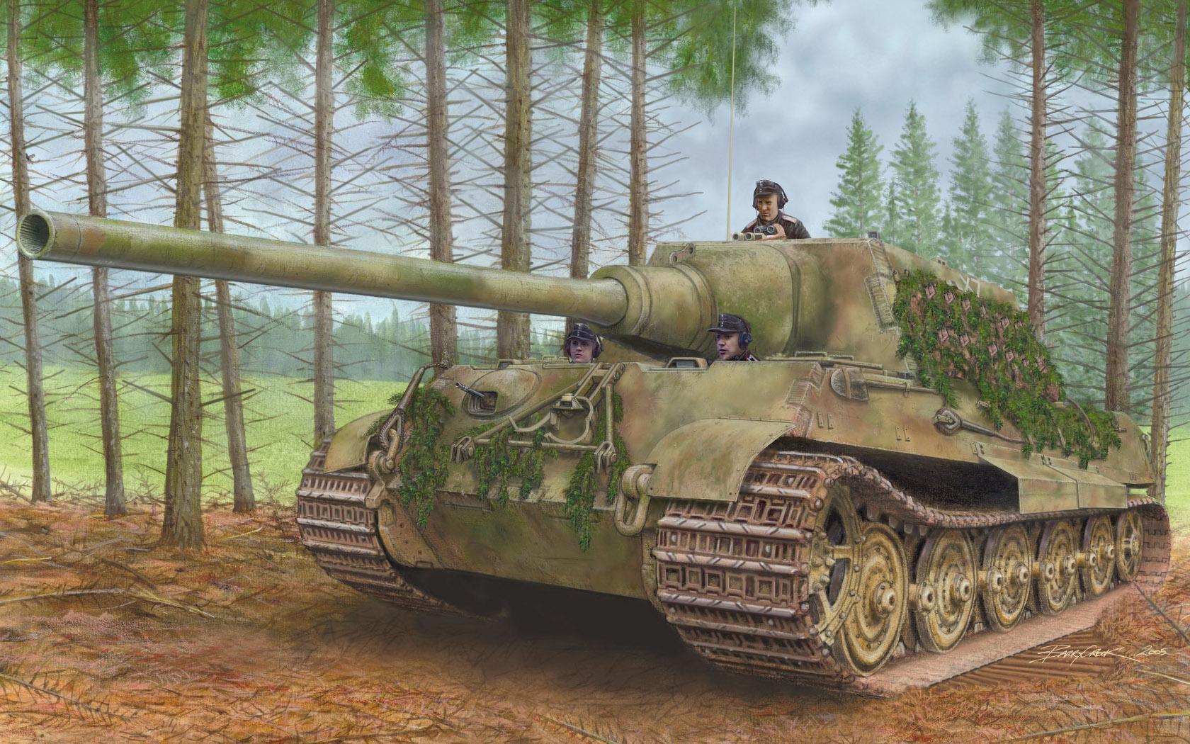 рисунок Jagdtiger
