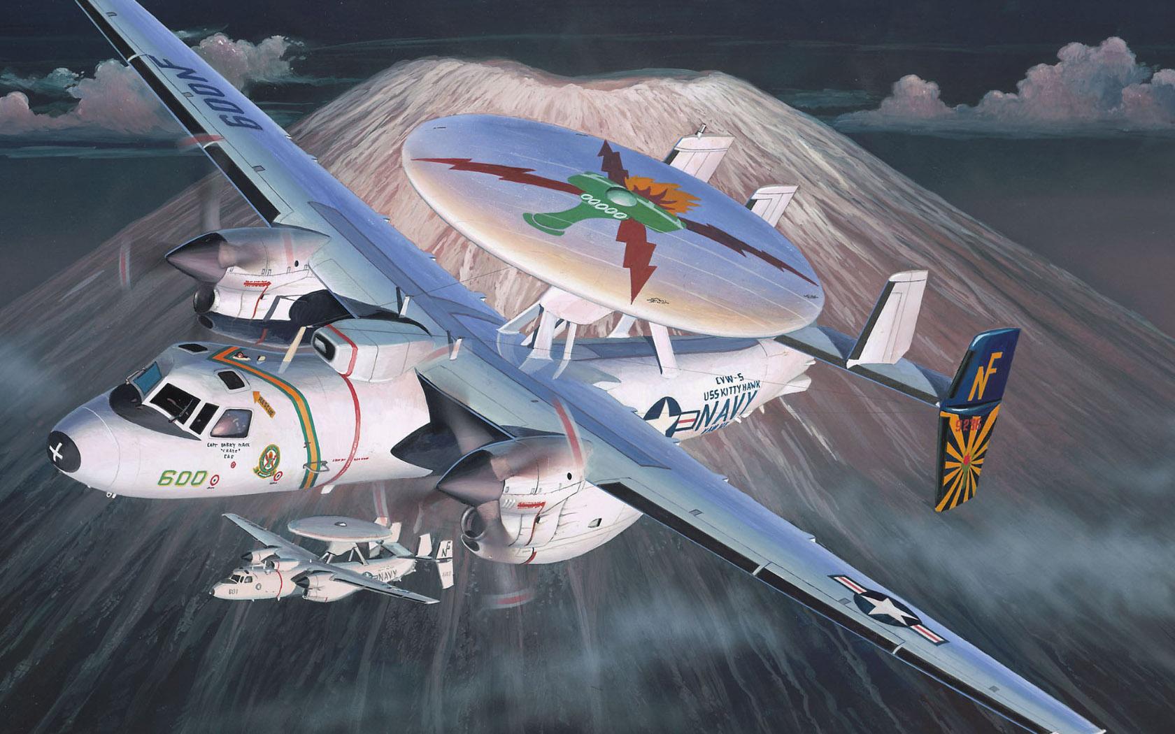 рисунок E-2C Hawkeye