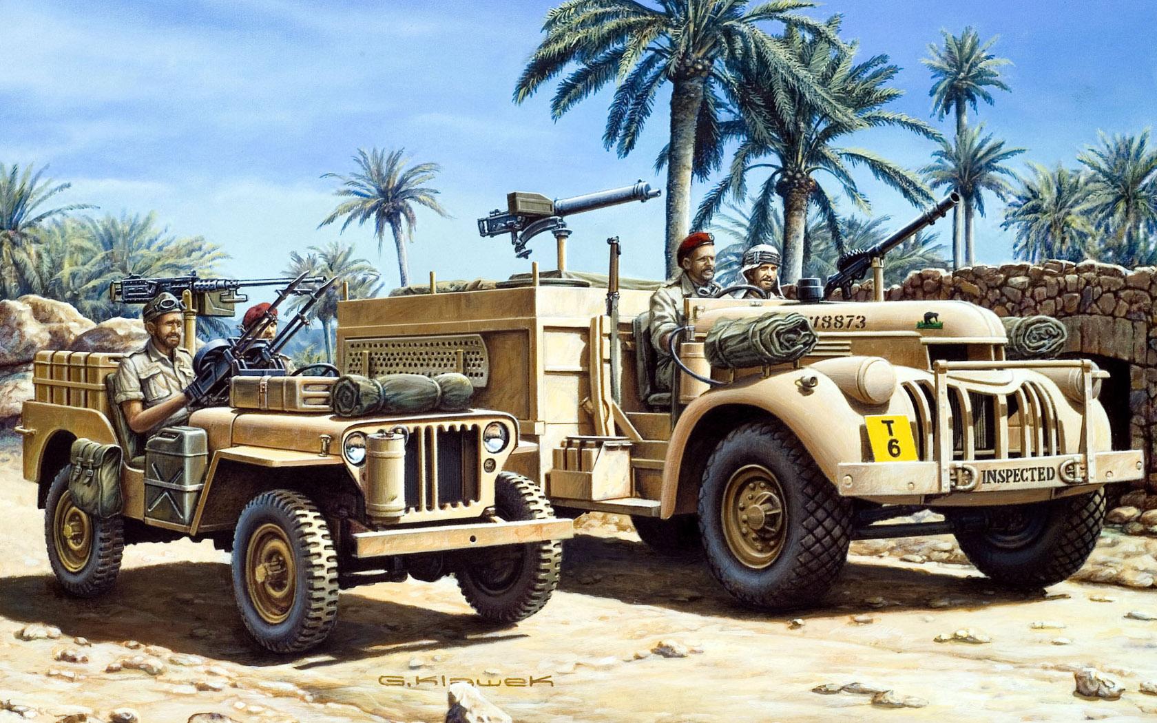 рисунок L.R.D.G. 30cwt Chevrolet & Jeep