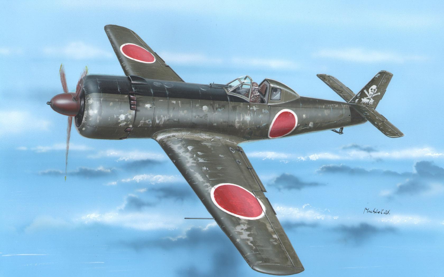 рисунок Ki-115 Tsurugi Battle of Tokyo