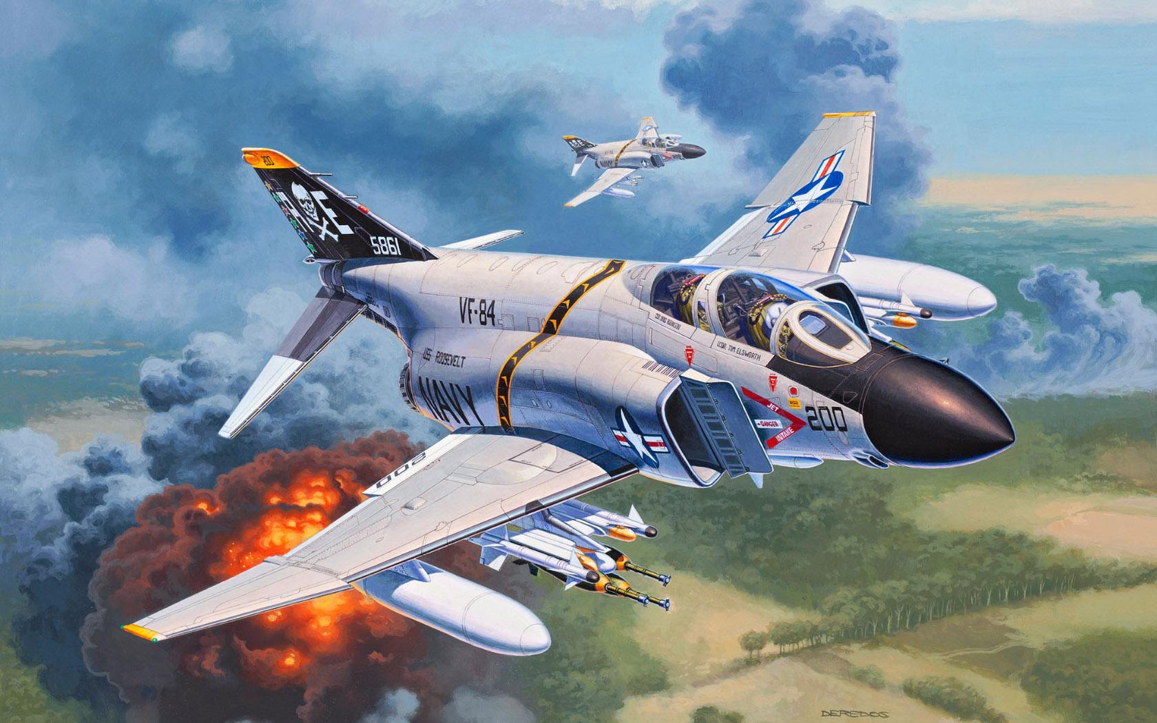 рисунок F-4J Phantom