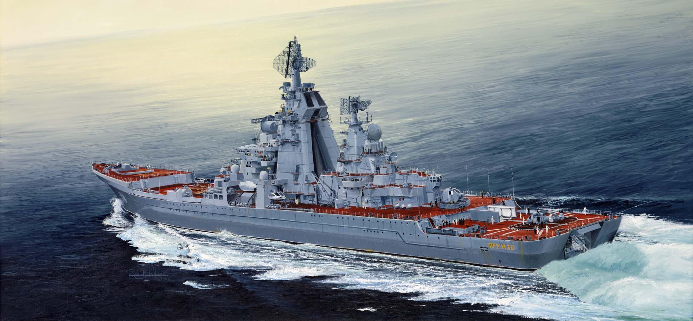 рисунок Russian Cruiser Admiral Lazarev