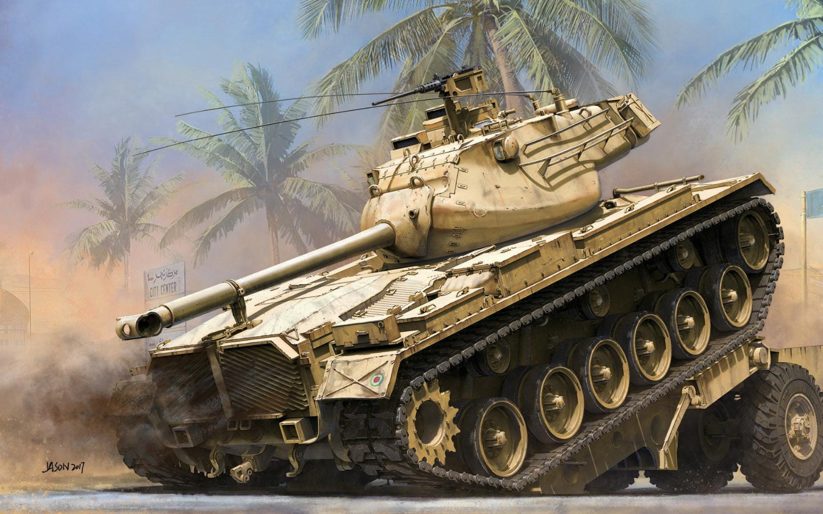 рисунок M47 Patton E/M