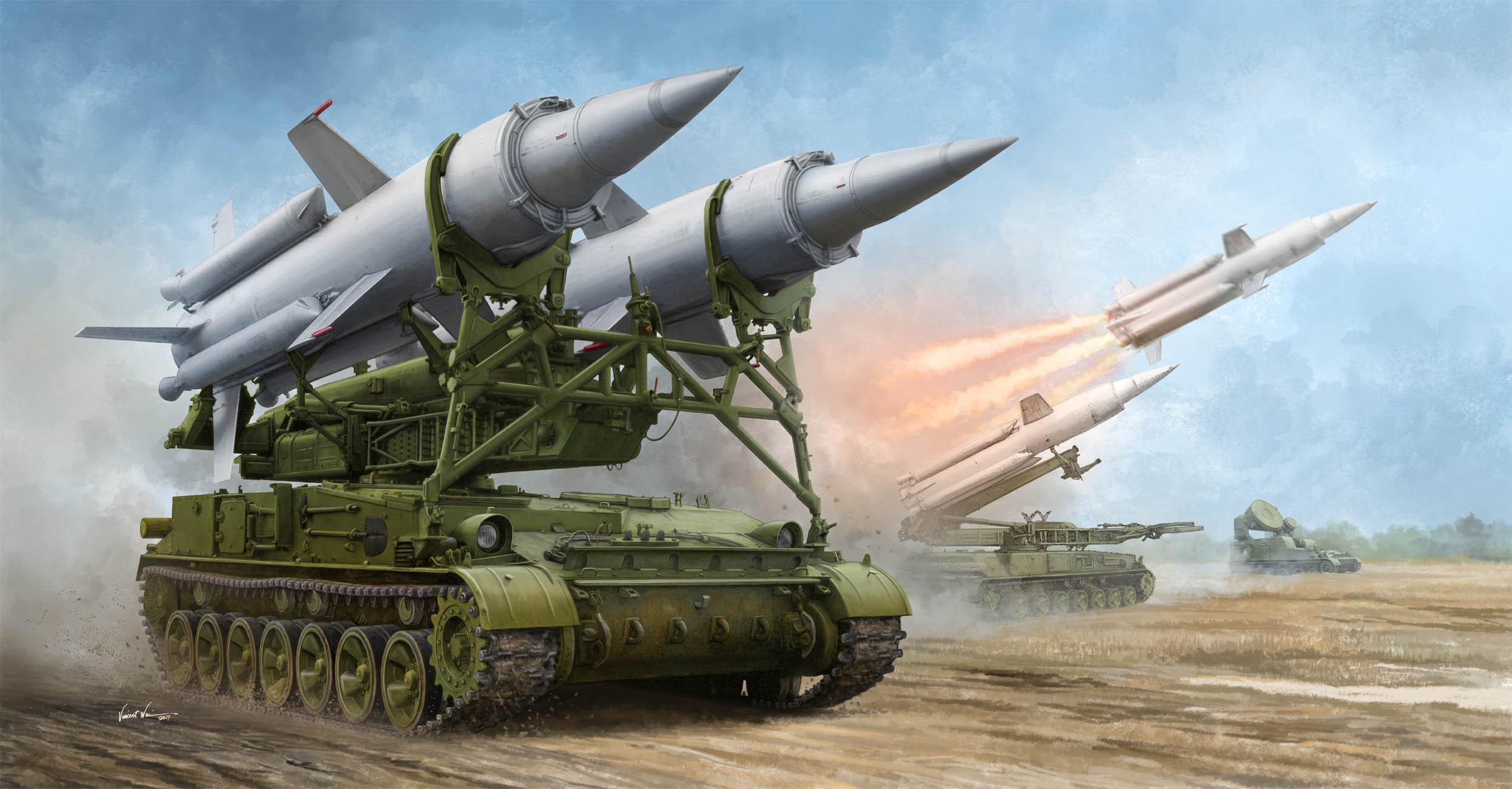 рисунок Soviet 2K11 Krug